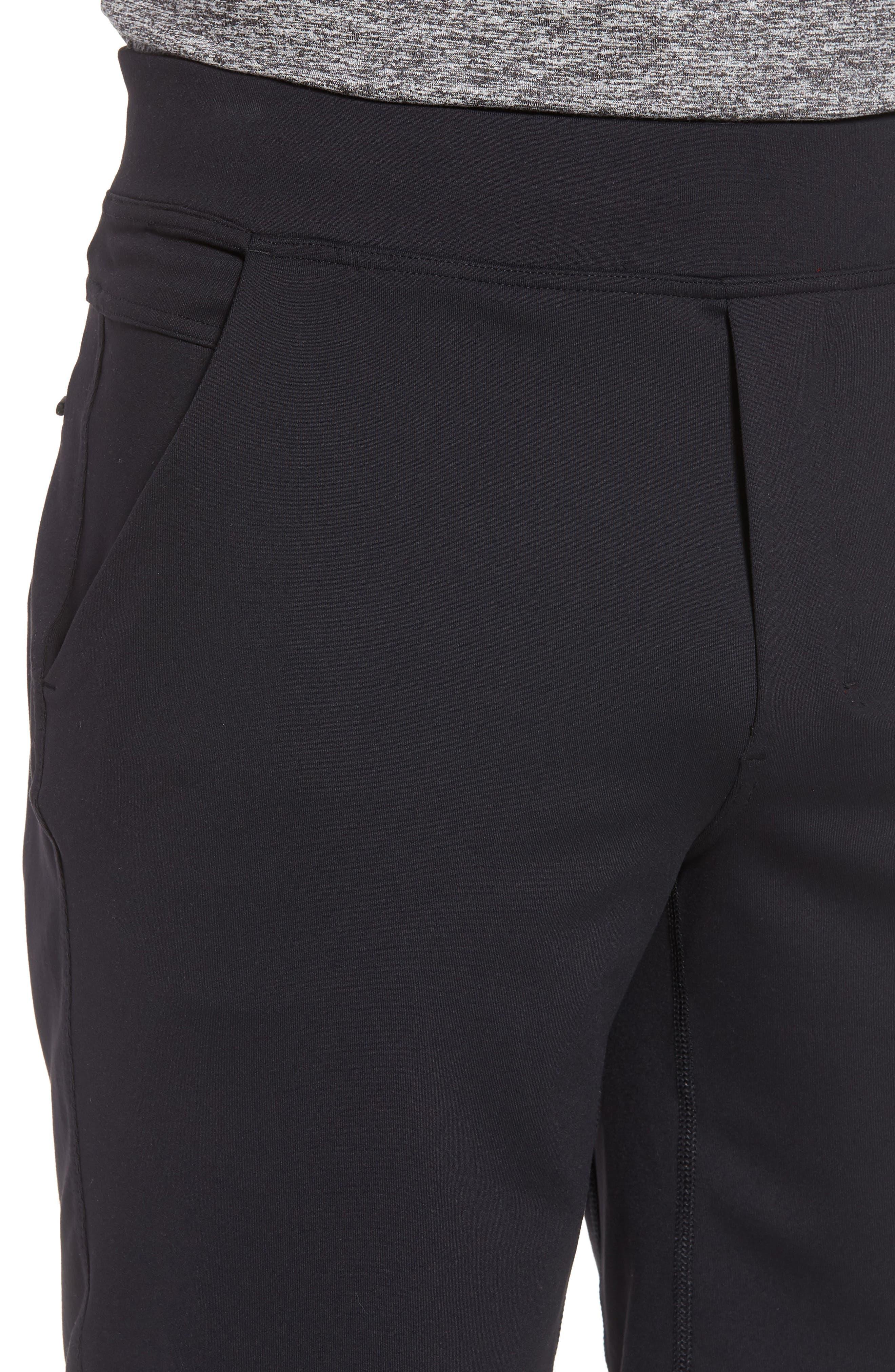 206 Shorts,                             Alternate thumbnail 4, color,                             BLACK