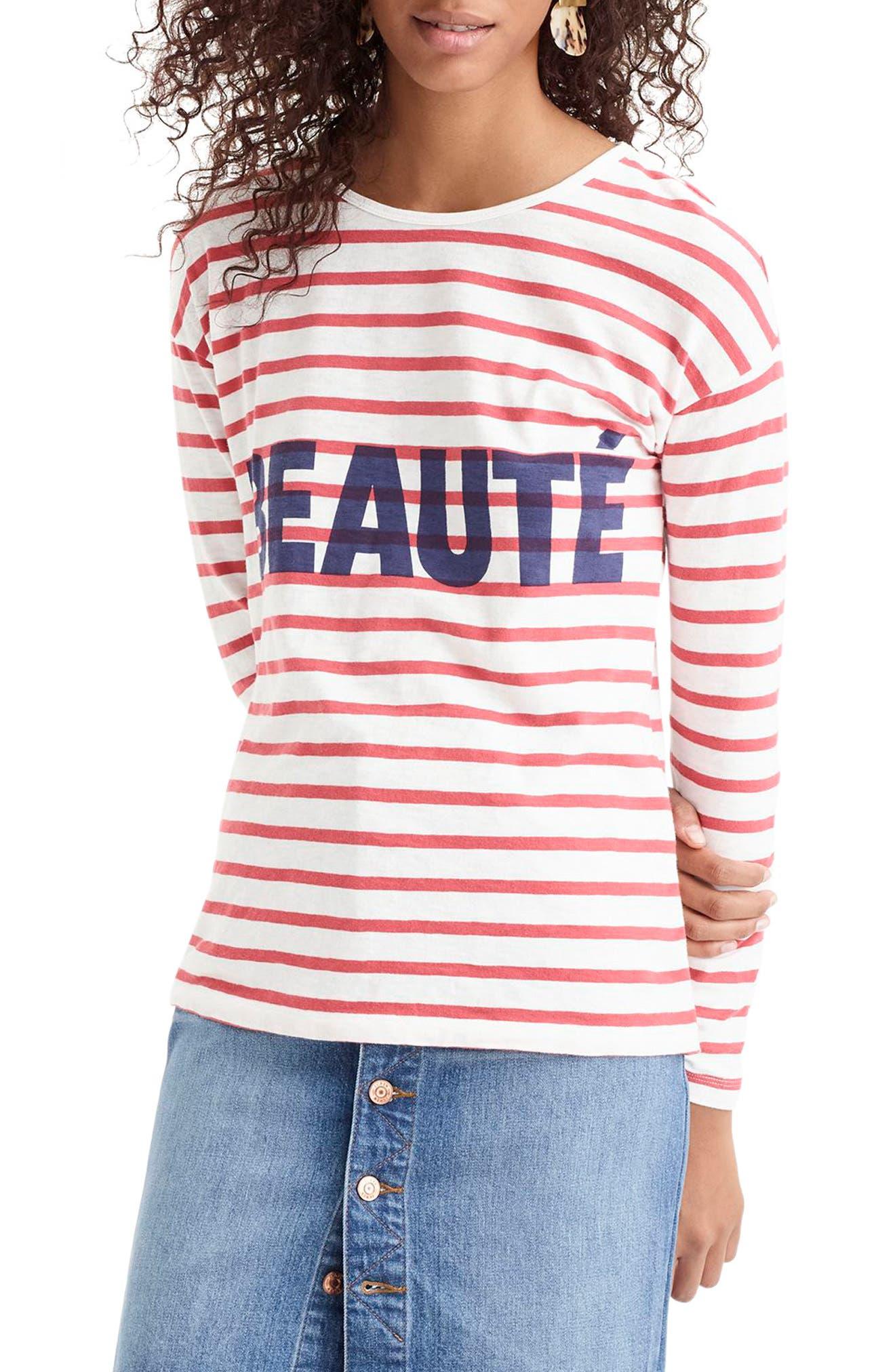 Beauté T-Shirt,                             Main thumbnail 1, color,                             600