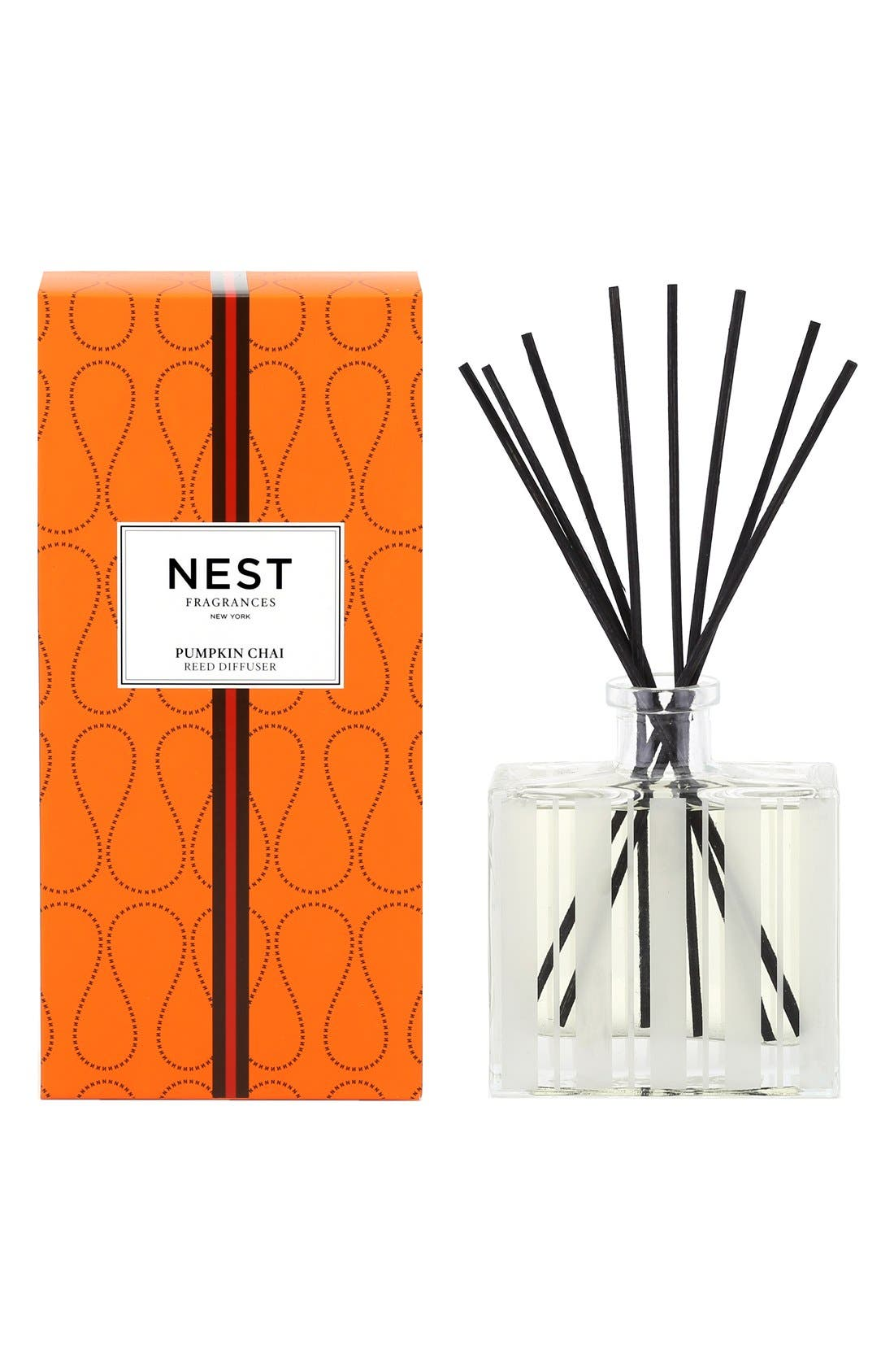 Pumpkin Chai Reed Diffuser,                             Main thumbnail 1, color,                             000