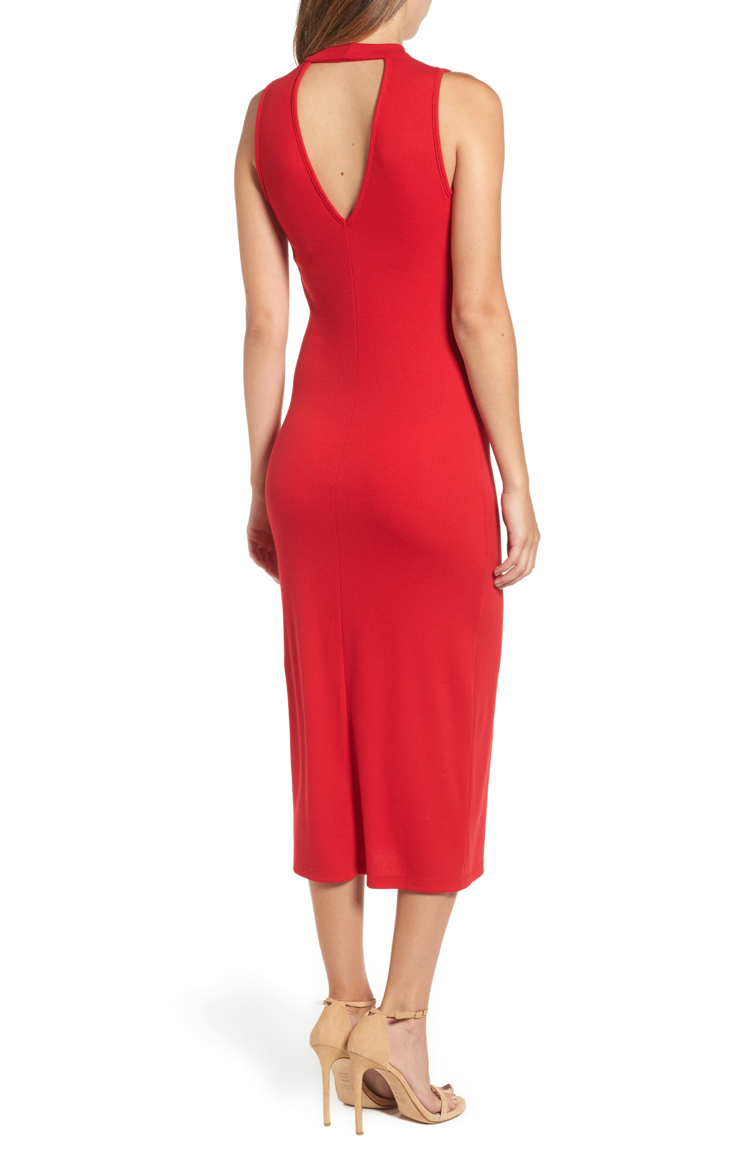 Body-Con Knit Dress,                             Alternate thumbnail 2, color,                             600