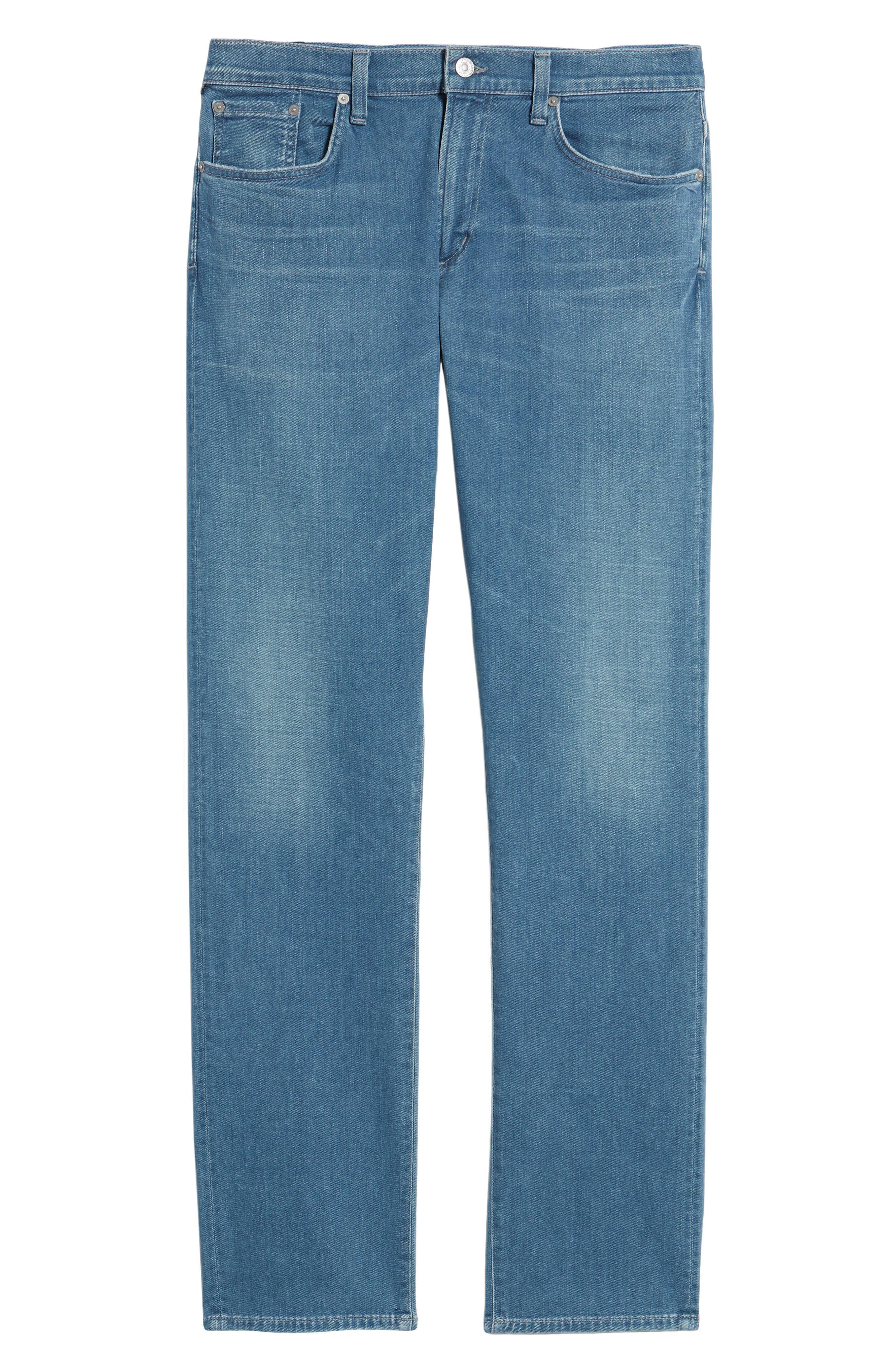 Core Slim Fit Jeans,                             Alternate thumbnail 6, color,                             427