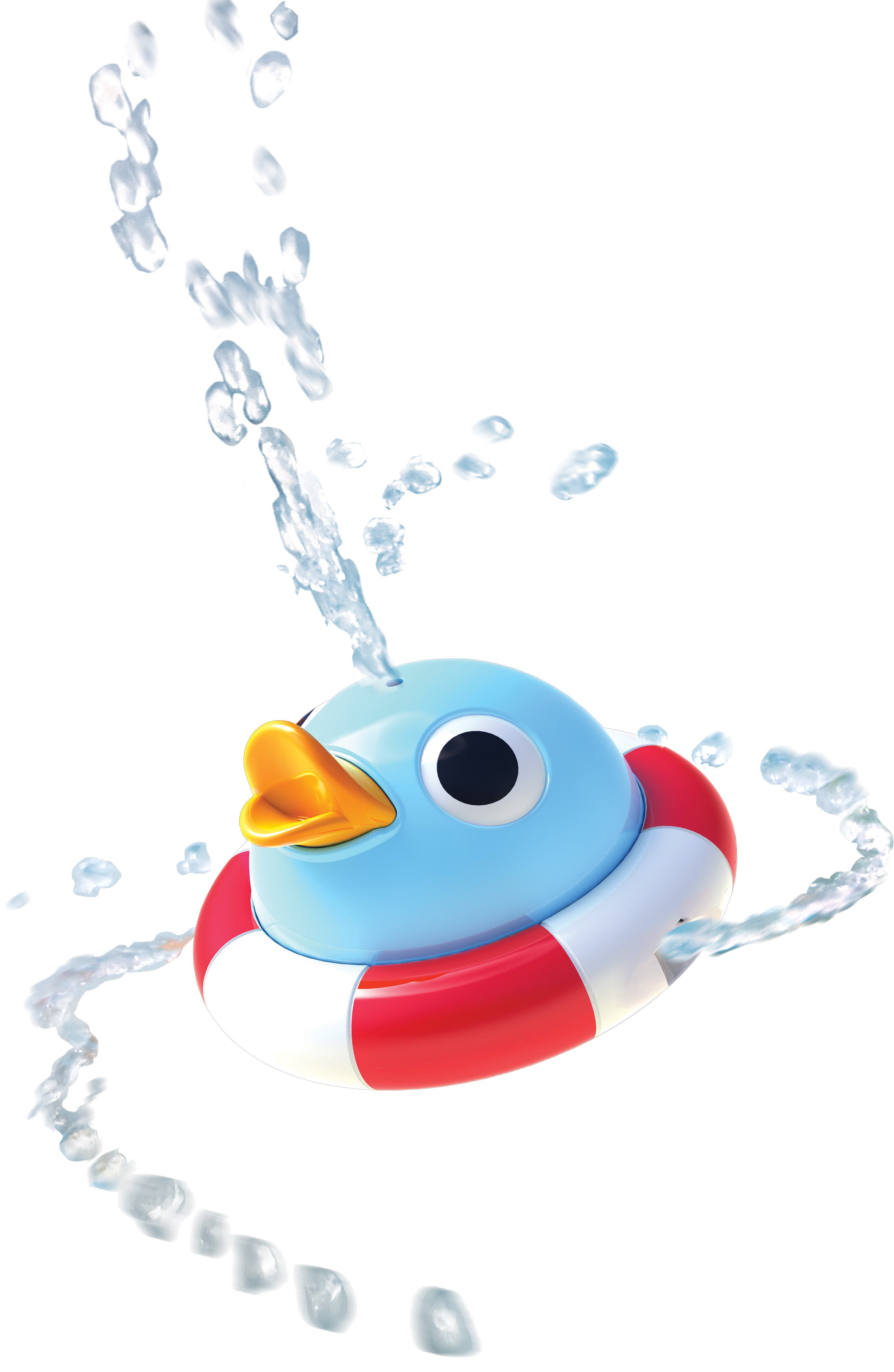 Musical Duck Race Bath Toy,                             Alternate thumbnail 13, color,                             RED