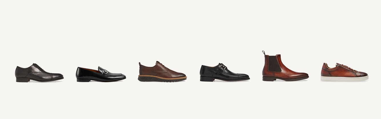 Best Dressed: six dress-shoe styles for men for all occasions.