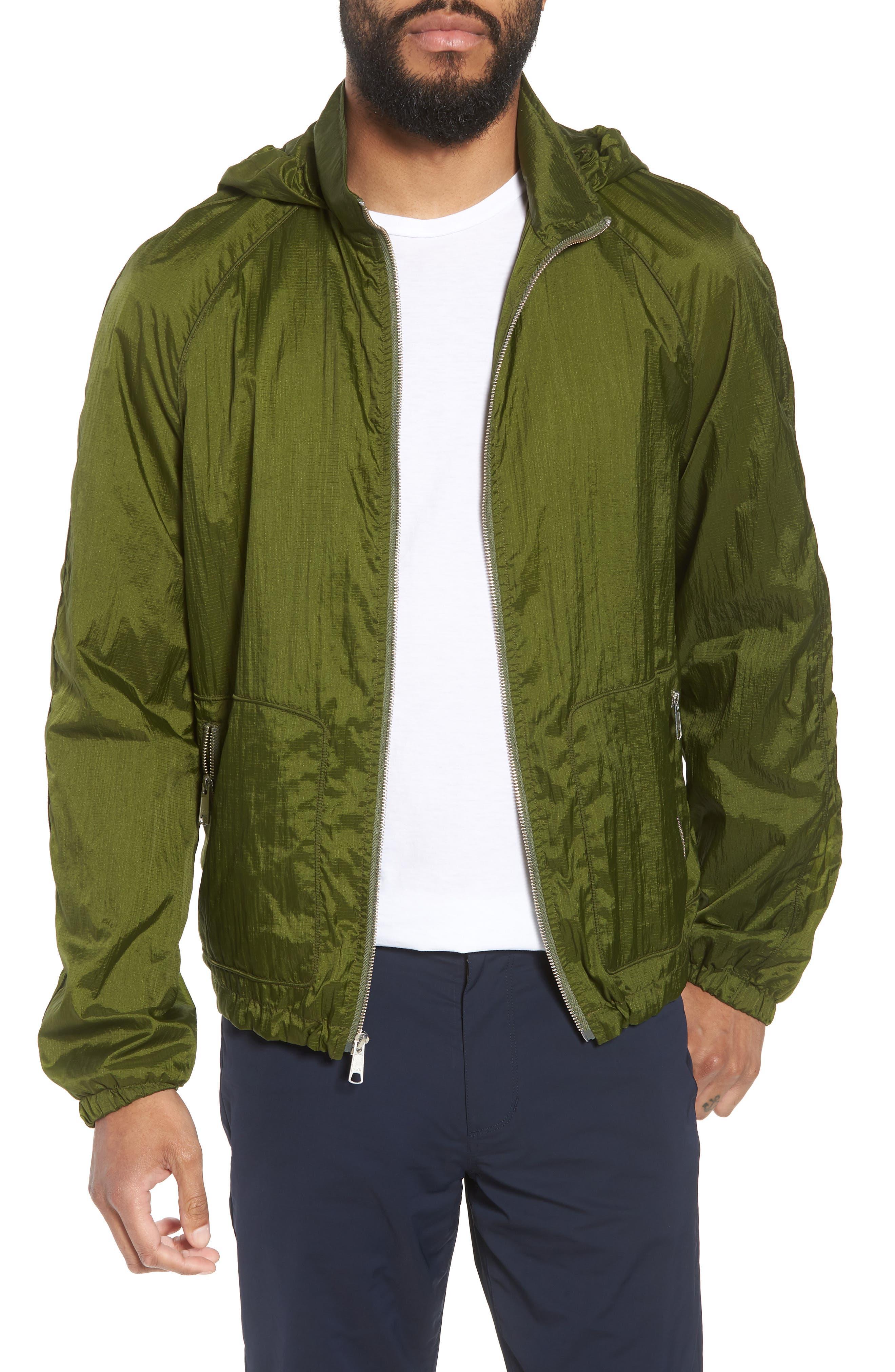 Hooded Windbreaker,                         Main,                         color, 340
