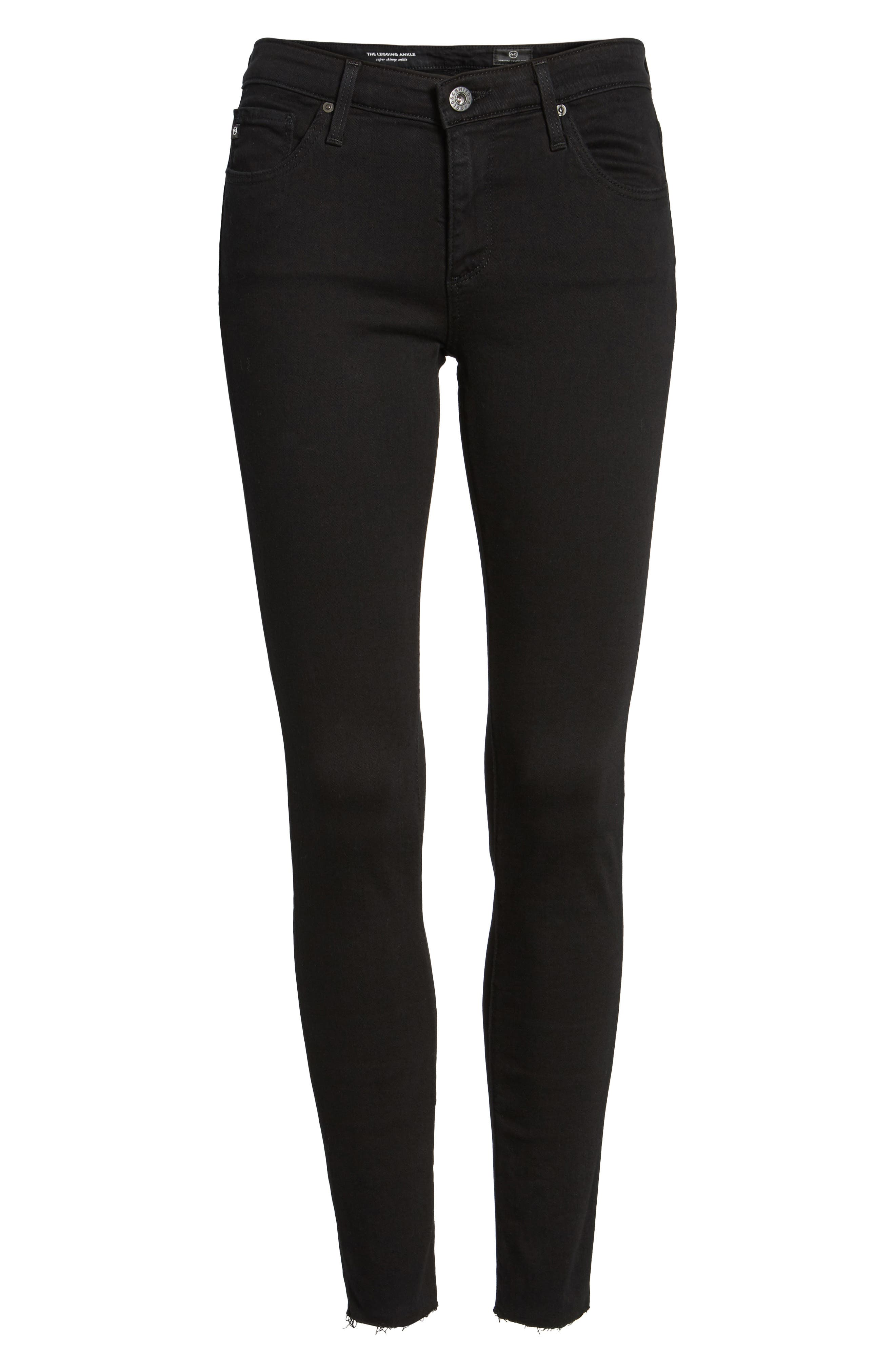 The Legging Ripped Super Skinny Jeans,                             Alternate thumbnail 6, color,                             006