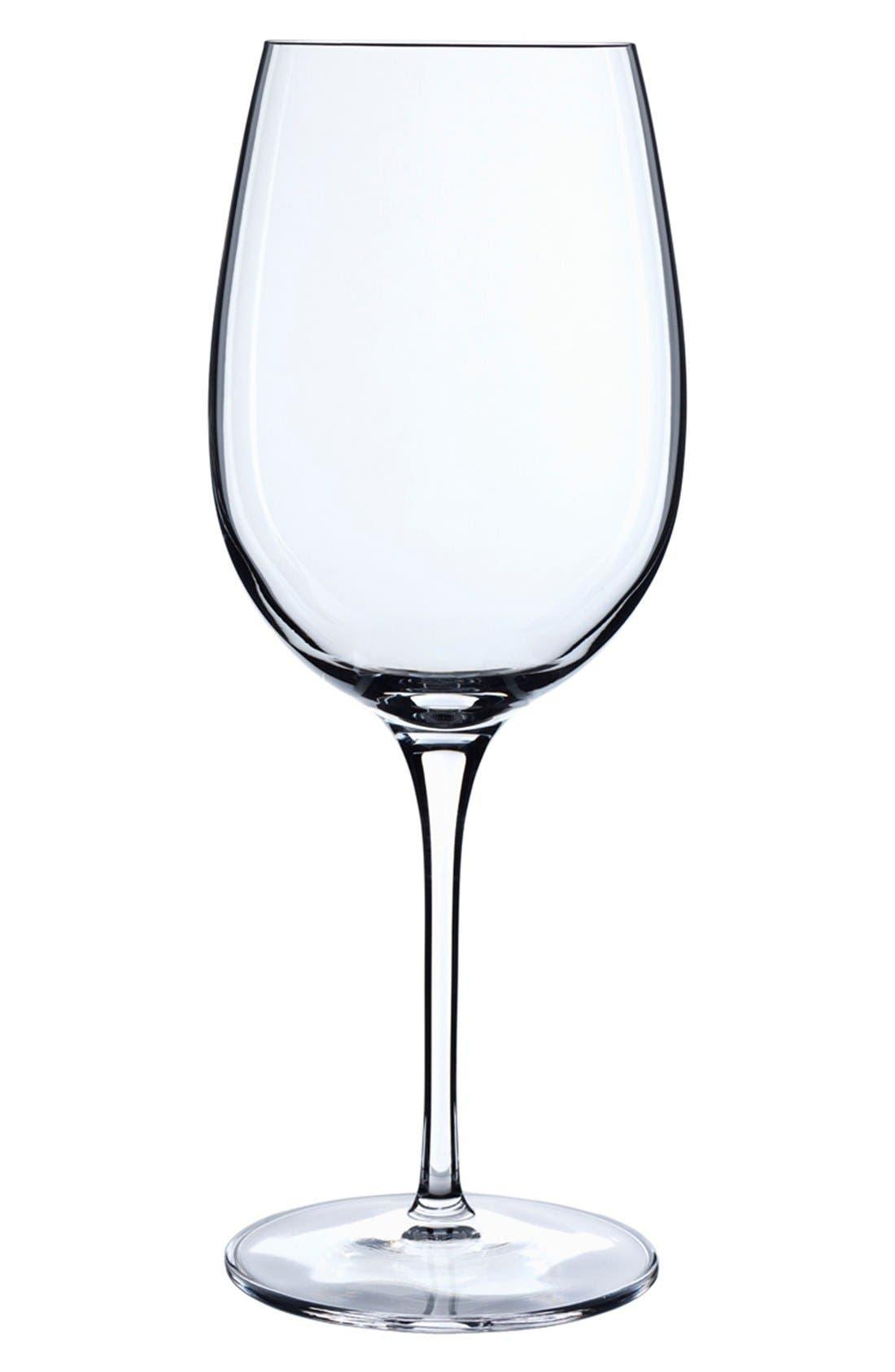 LUIGI BORMIOLI,                             'Crescendo' Bordeaux Glasses,                             Main thumbnail 1, color,                             000