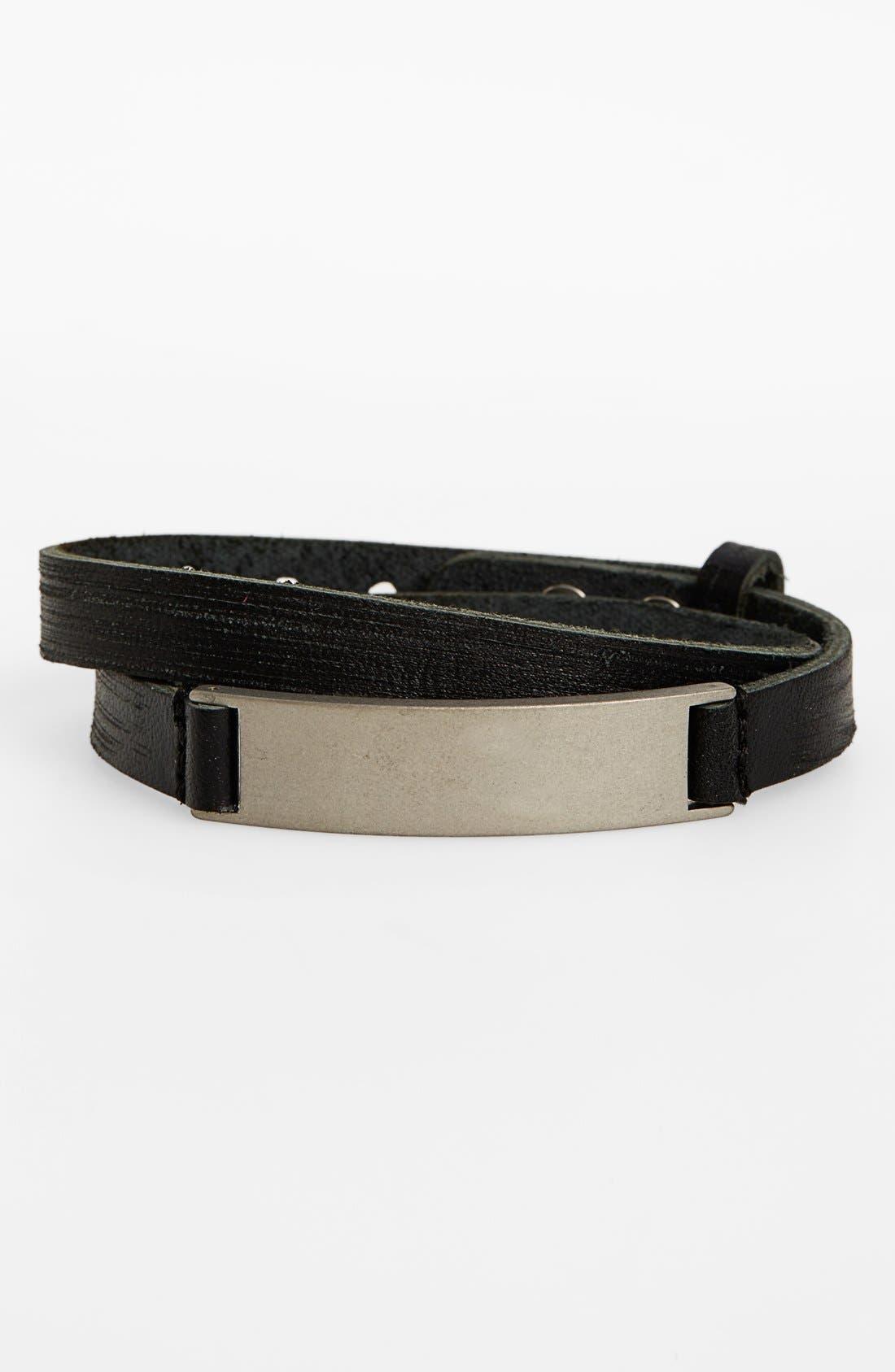 TRION:Z,                             'MagTitan - Grange' Adjustable Magnetic Bracelet,                             Main thumbnail 1, color,                             001