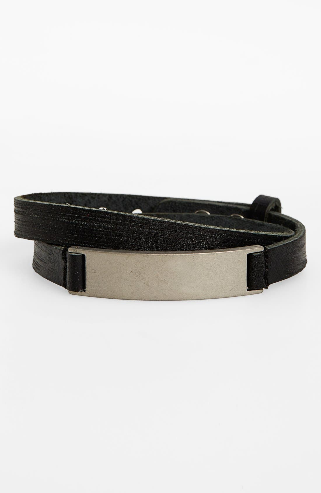 TRION:Z 'MagTitan - Grange' Adjustable Magnetic Bracelet, Main, color, 001