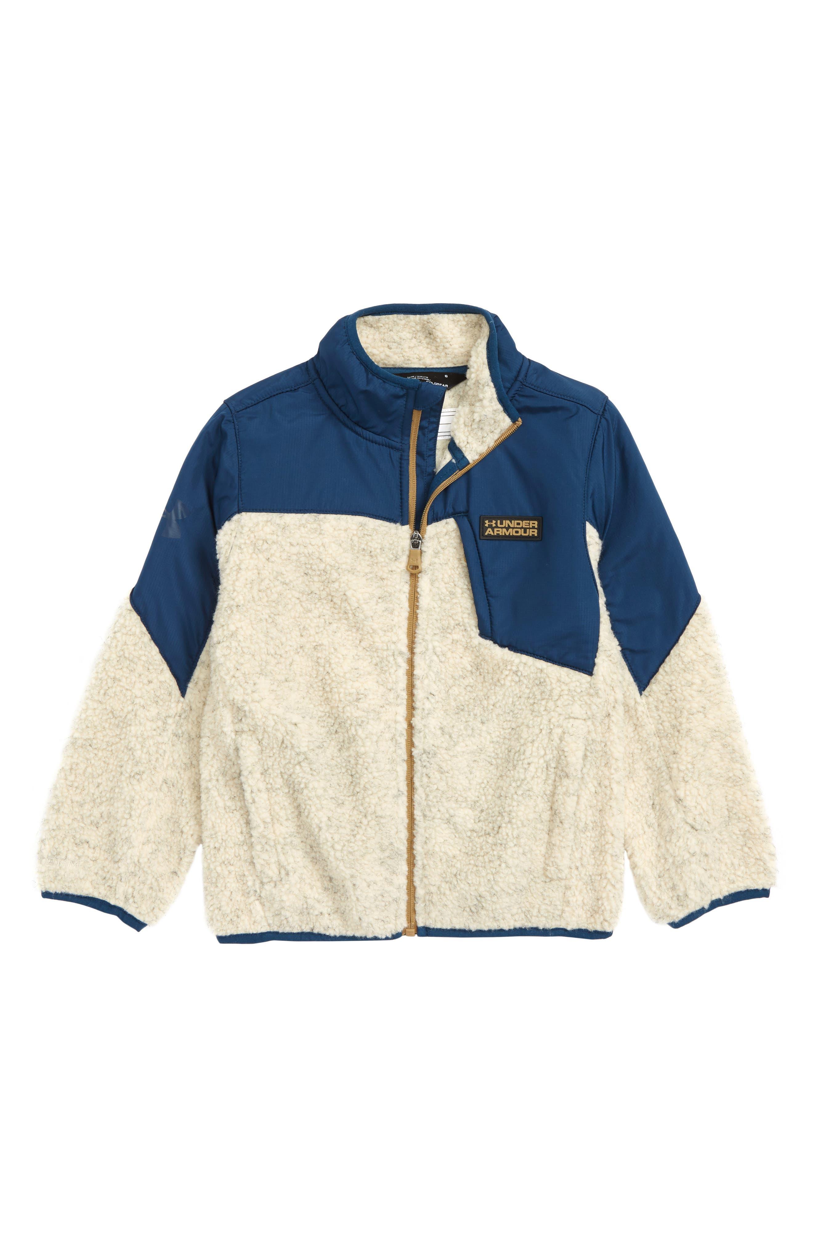 Storm Tanuk Fleece Jacket,                             Main thumbnail 1, color,                             OATMEAL HEATHER
