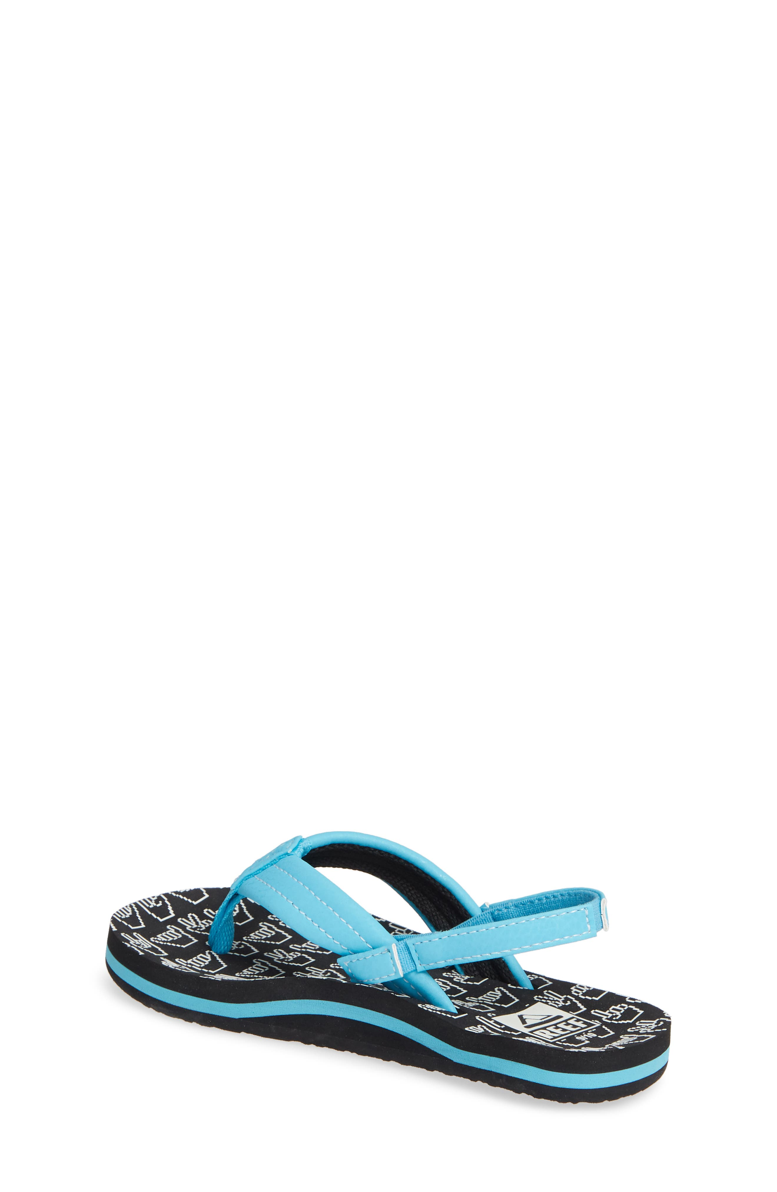 REEF,                             Ahi Glow in the Dark Flip Flop,                             Alternate thumbnail 2, color,                             SHAKA GLOW
