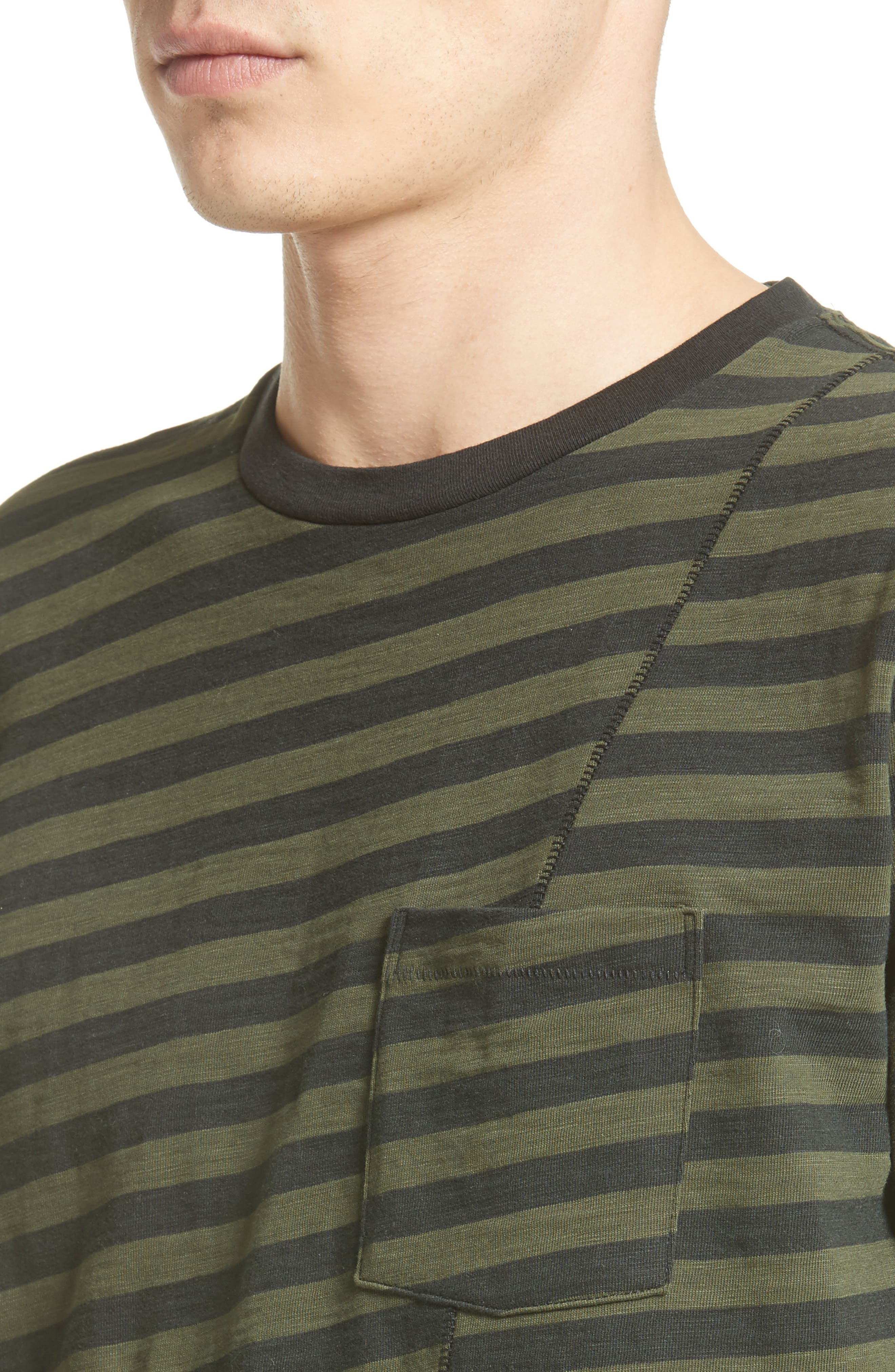 Blake Stripe T-Shirt,                             Alternate thumbnail 4, color,                             301