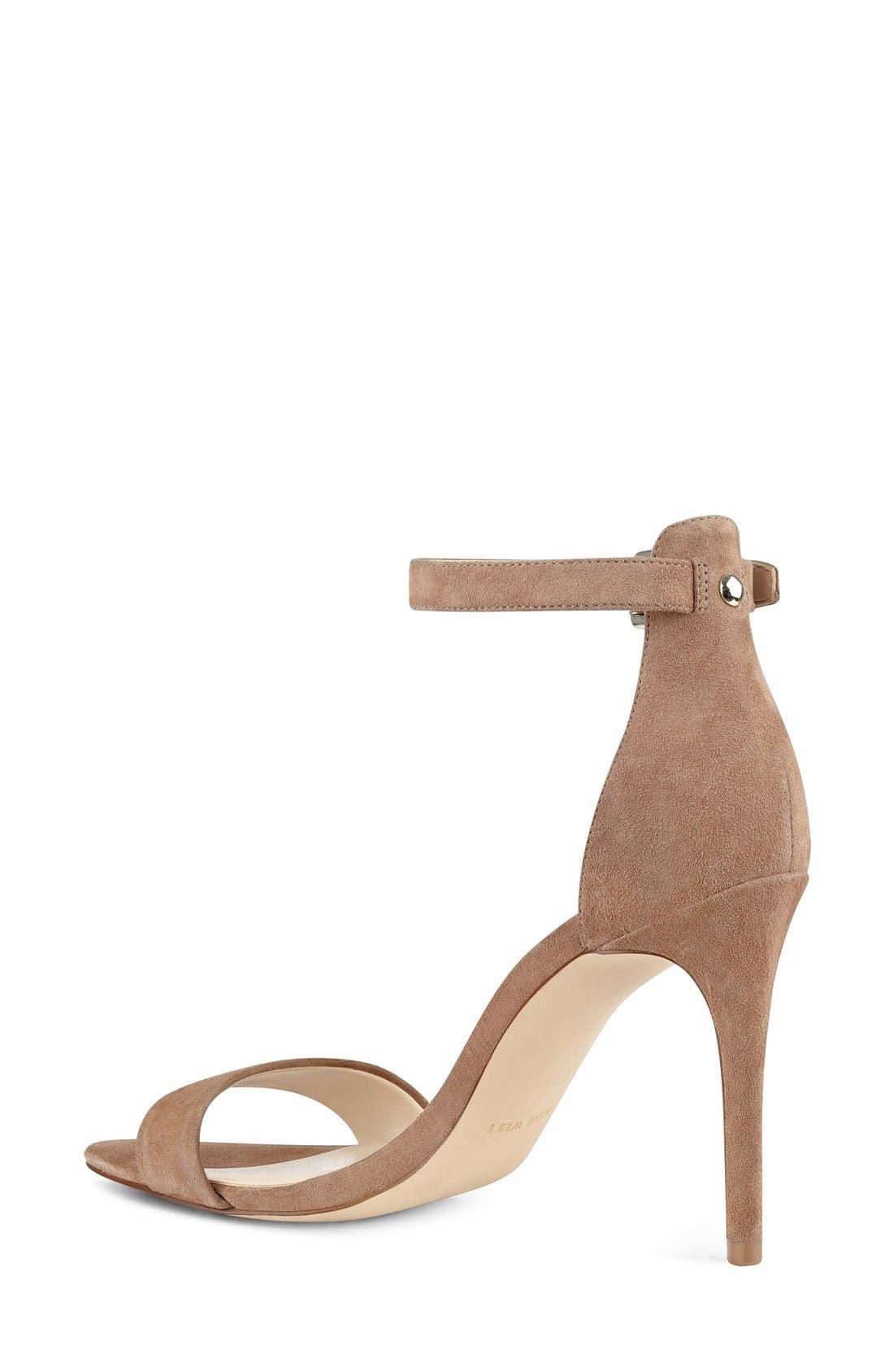 'Mana' Ankle Strap Sandal,                             Alternate thumbnail 9, color,