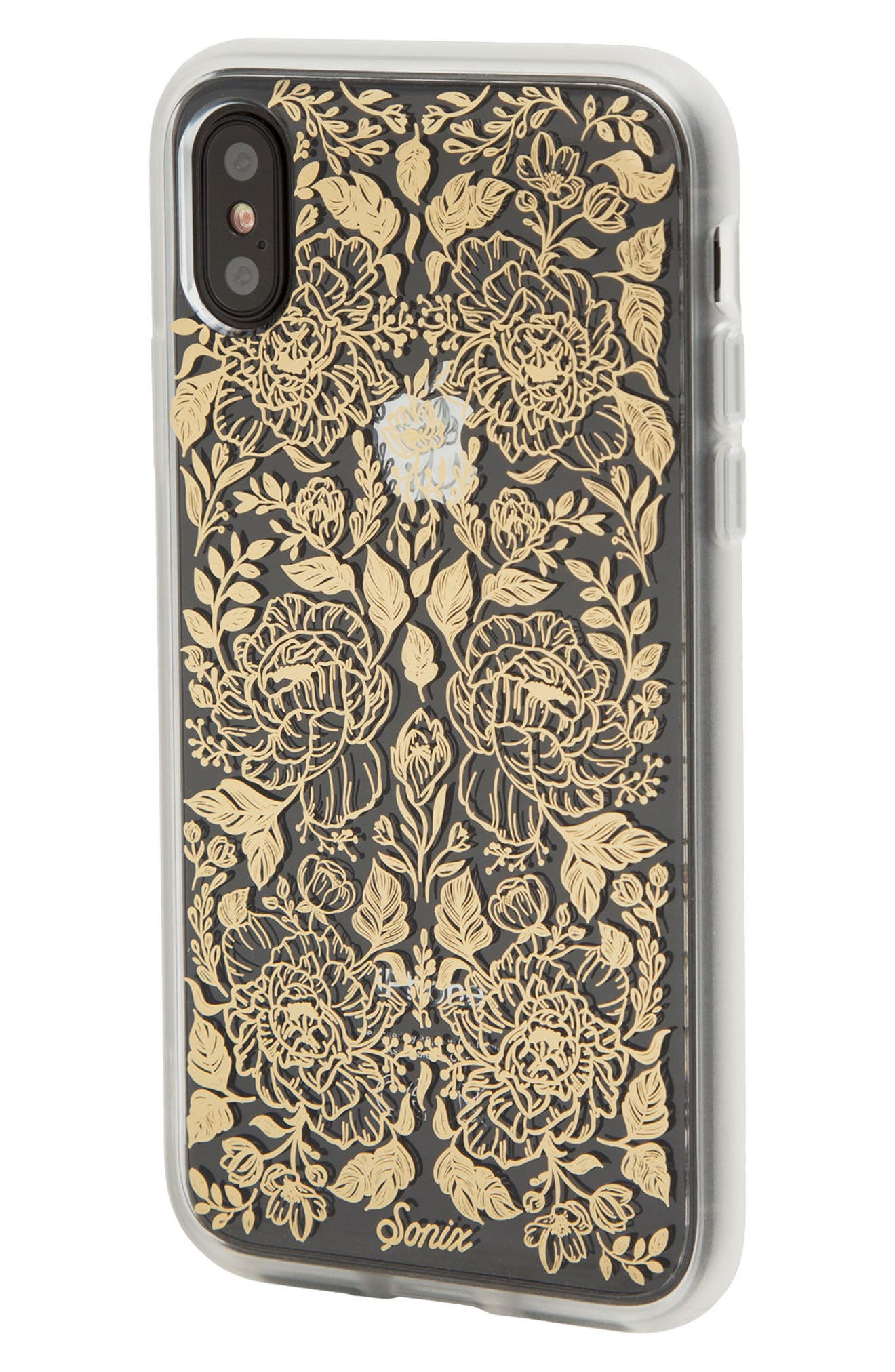 Secret Garden Print iPhone X Case,                             Alternate thumbnail 2, color,                             710