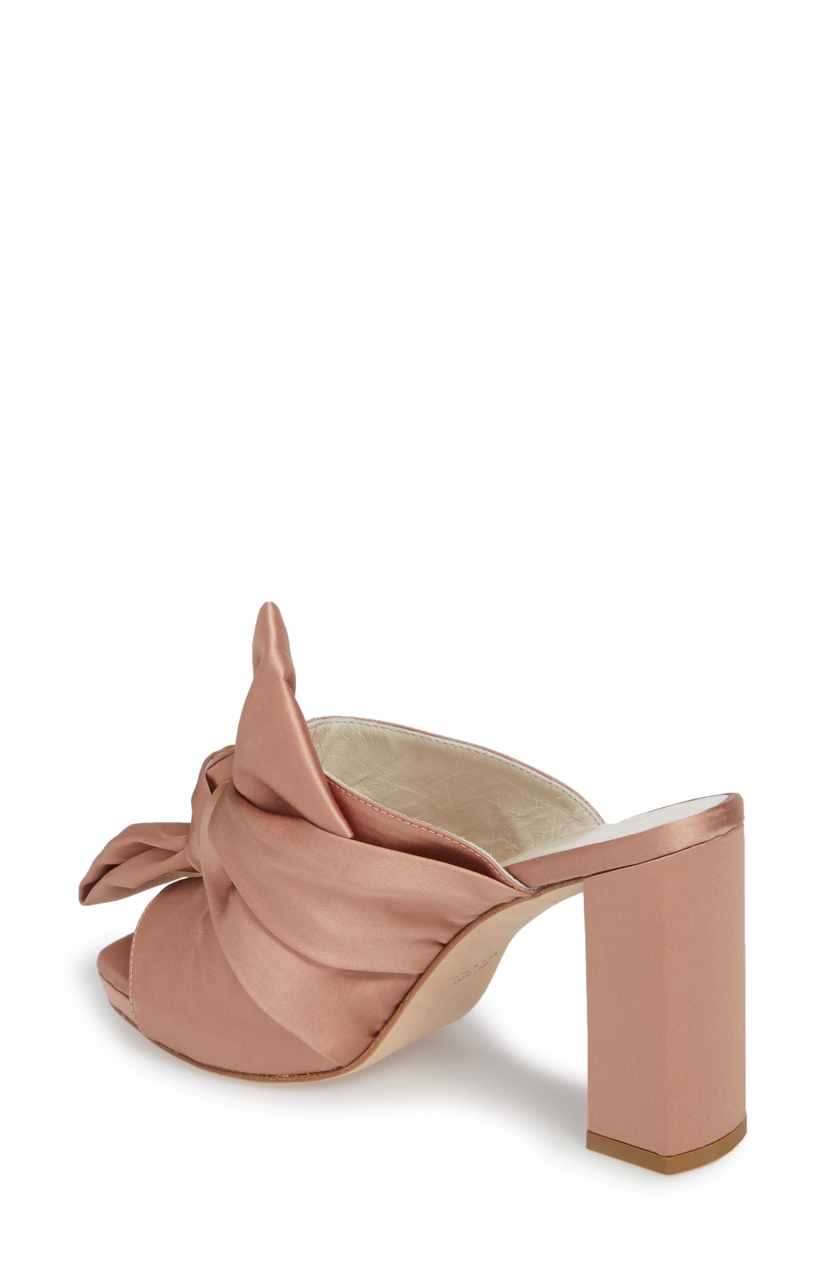 Elisa Knotted Bow Mule,                             Alternate thumbnail 6, color,