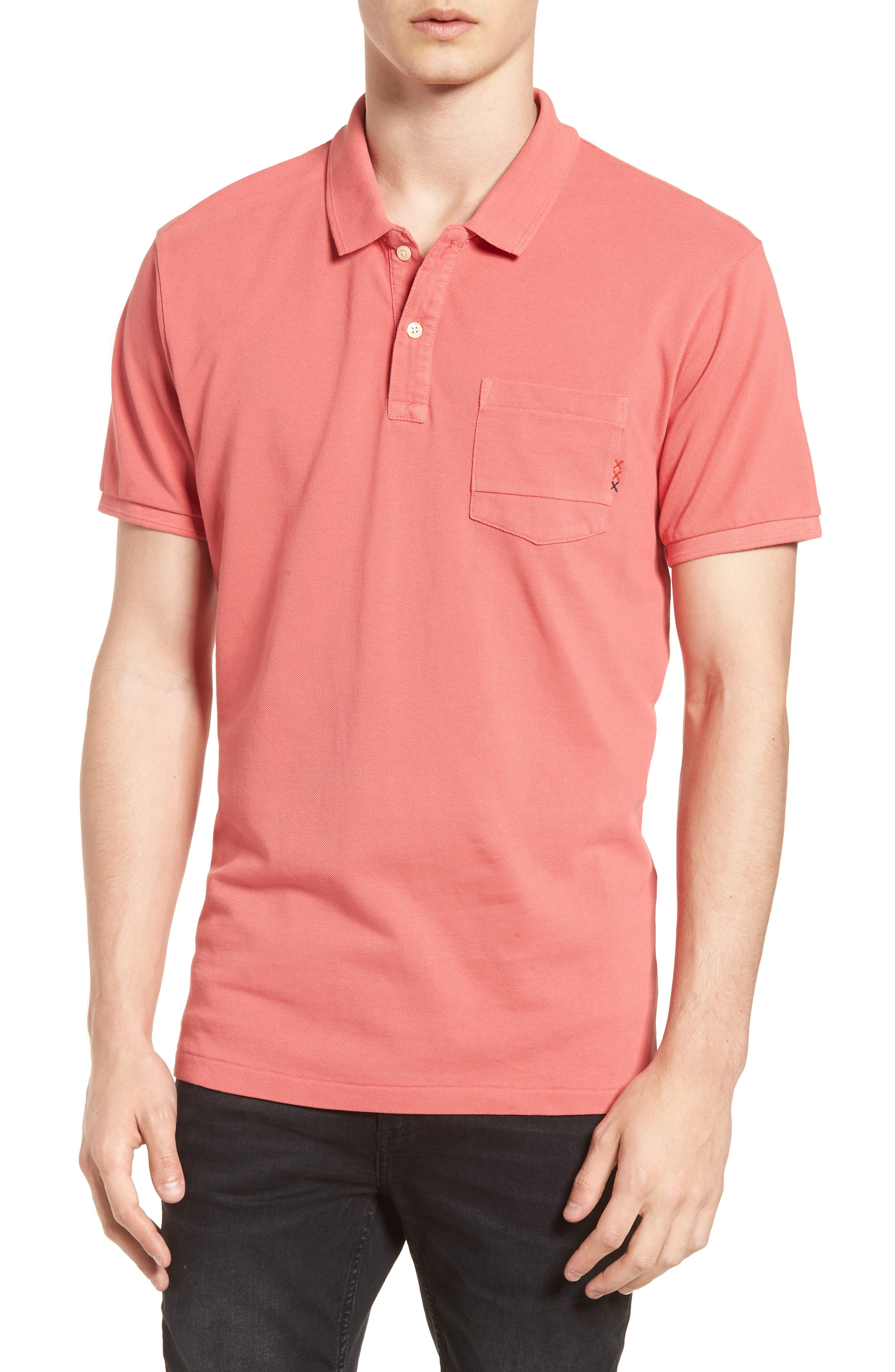 Garment Dyed Polo,                             Main thumbnail 1, color,                             600