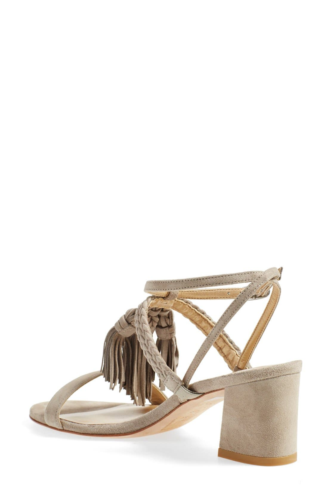 'Tasselmania' Strappy Sandal,                             Alternate thumbnail 11, color,
