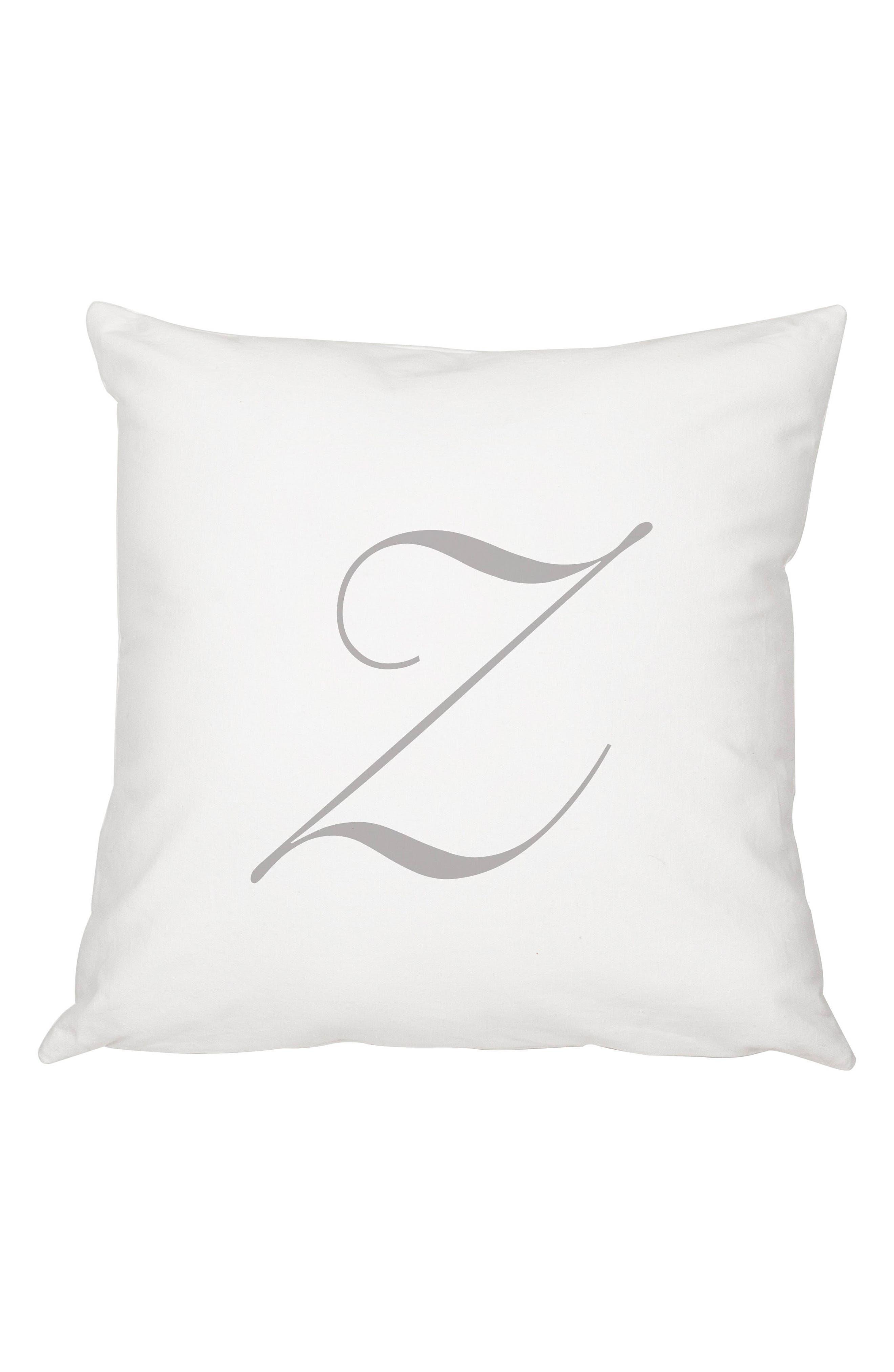 Script Monogram Accent Pillow,                             Main thumbnail 26, color,