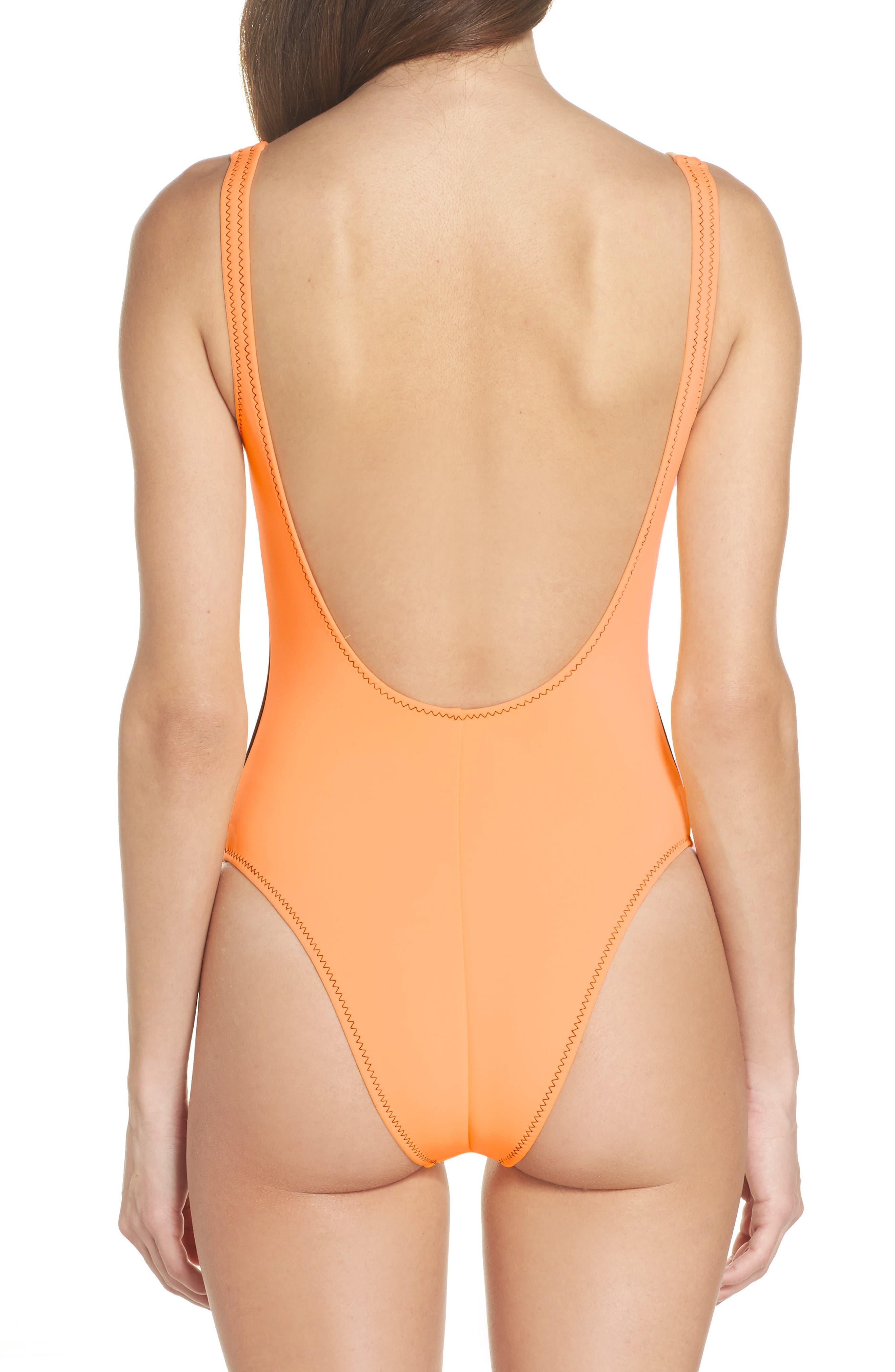 Time After Time One-Piece Swimsuit,                             Alternate thumbnail 2, color,                             816