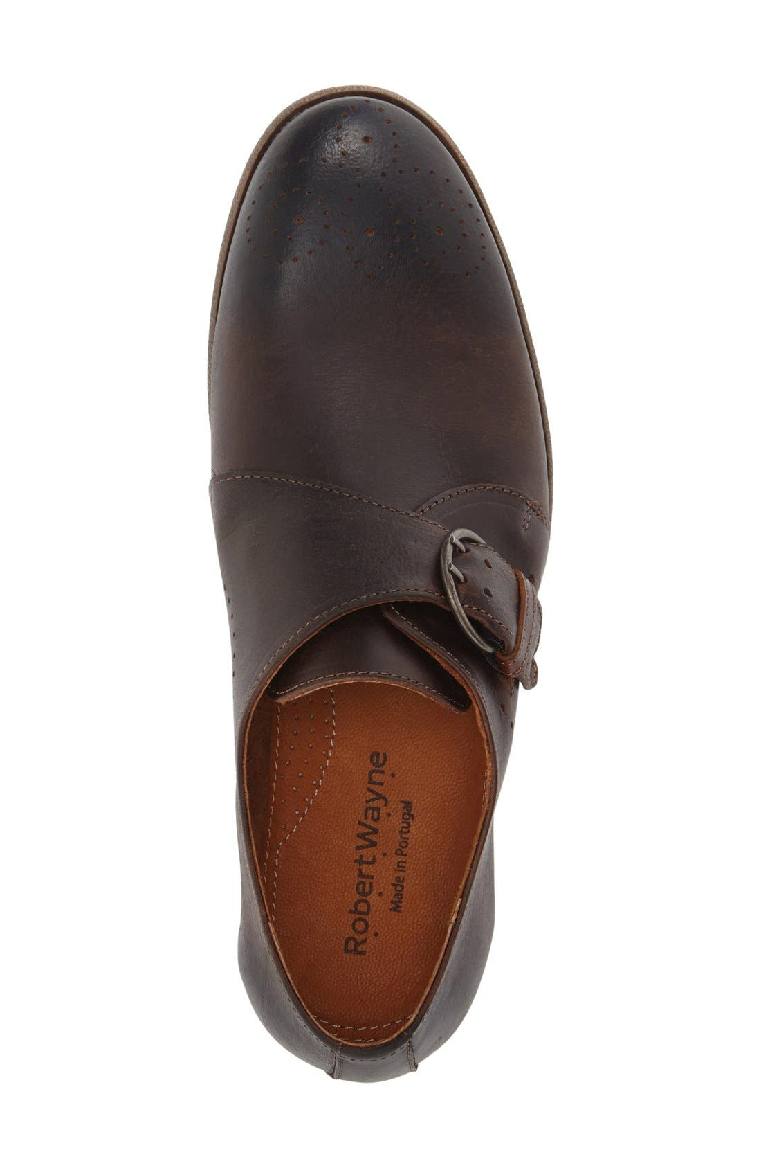 'Montana' Monk Strap Shoe,                             Alternate thumbnail 3, color,                             201