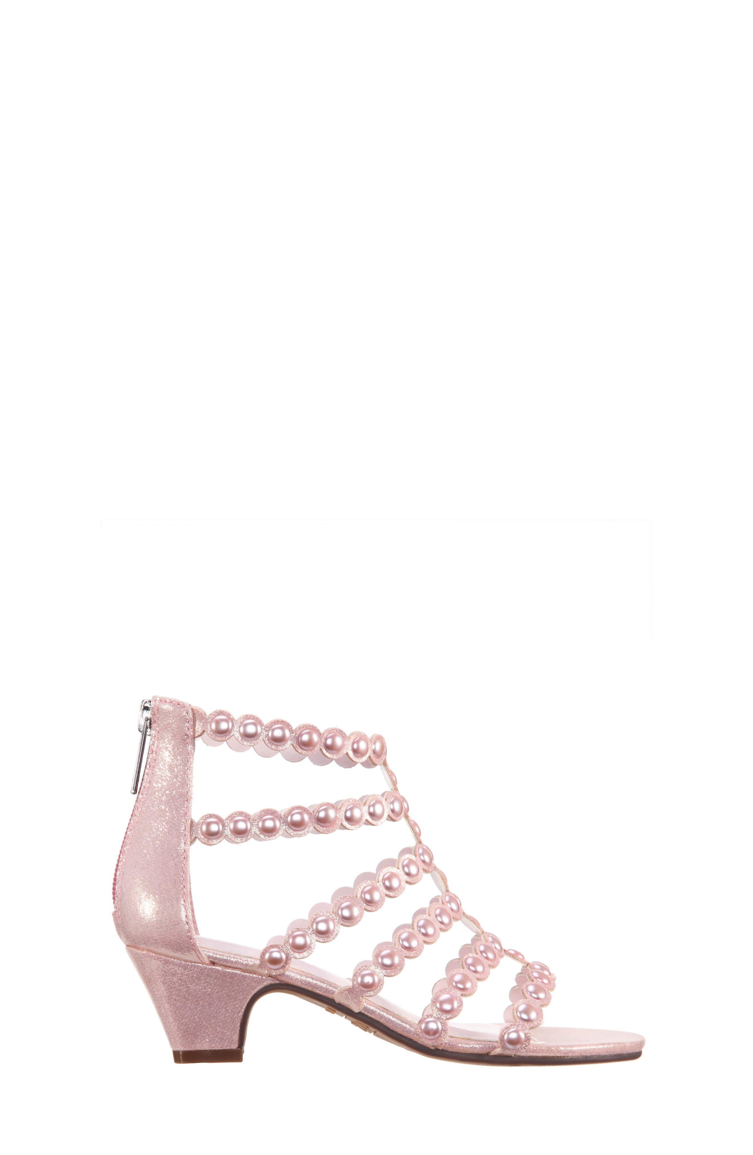 Princess-P Shimmer Sandal,                             Alternate thumbnail 8, color,