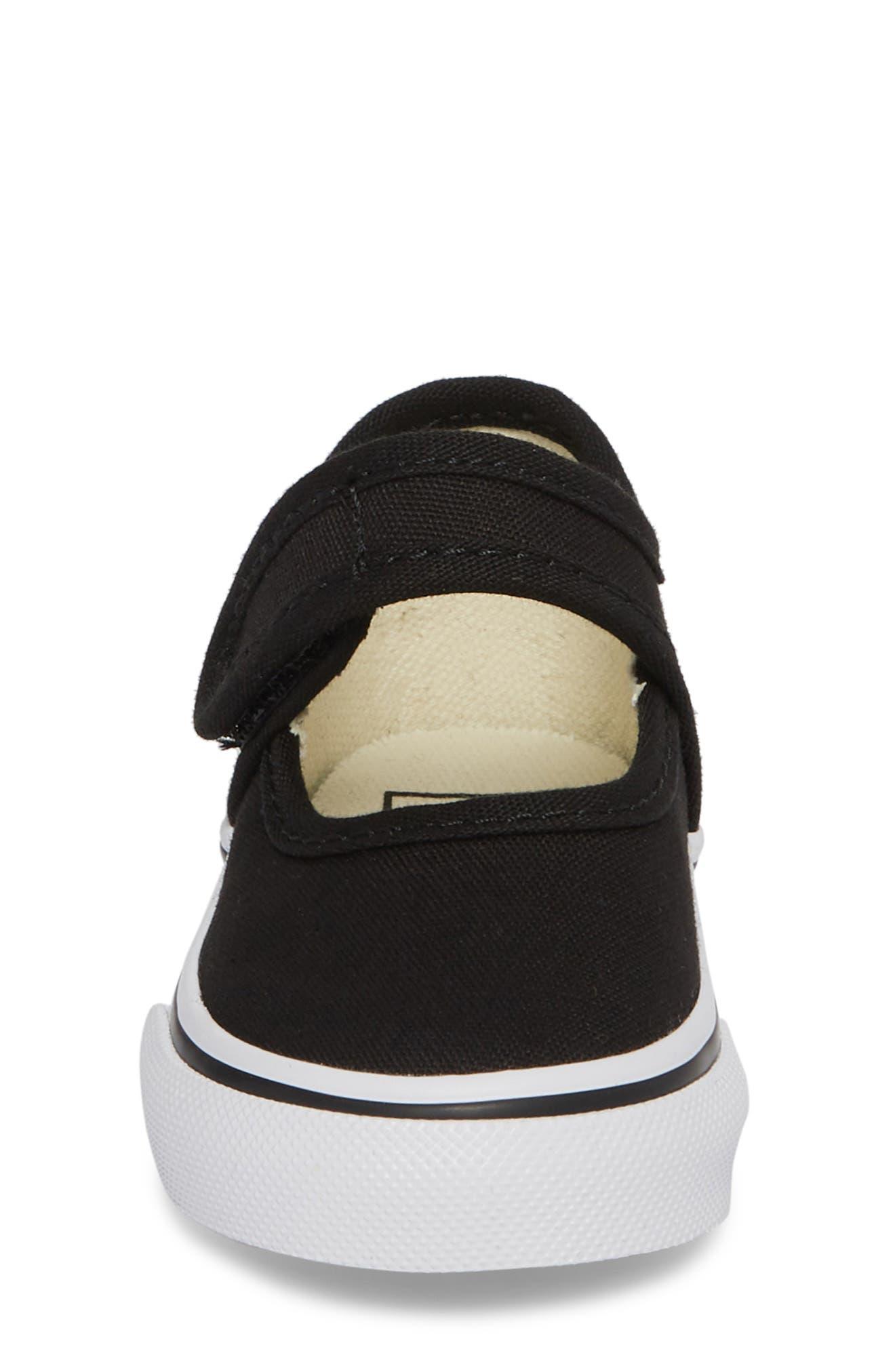 VANS,                             Mary Jane Sneaker,                             Alternate thumbnail 4, color,                             001