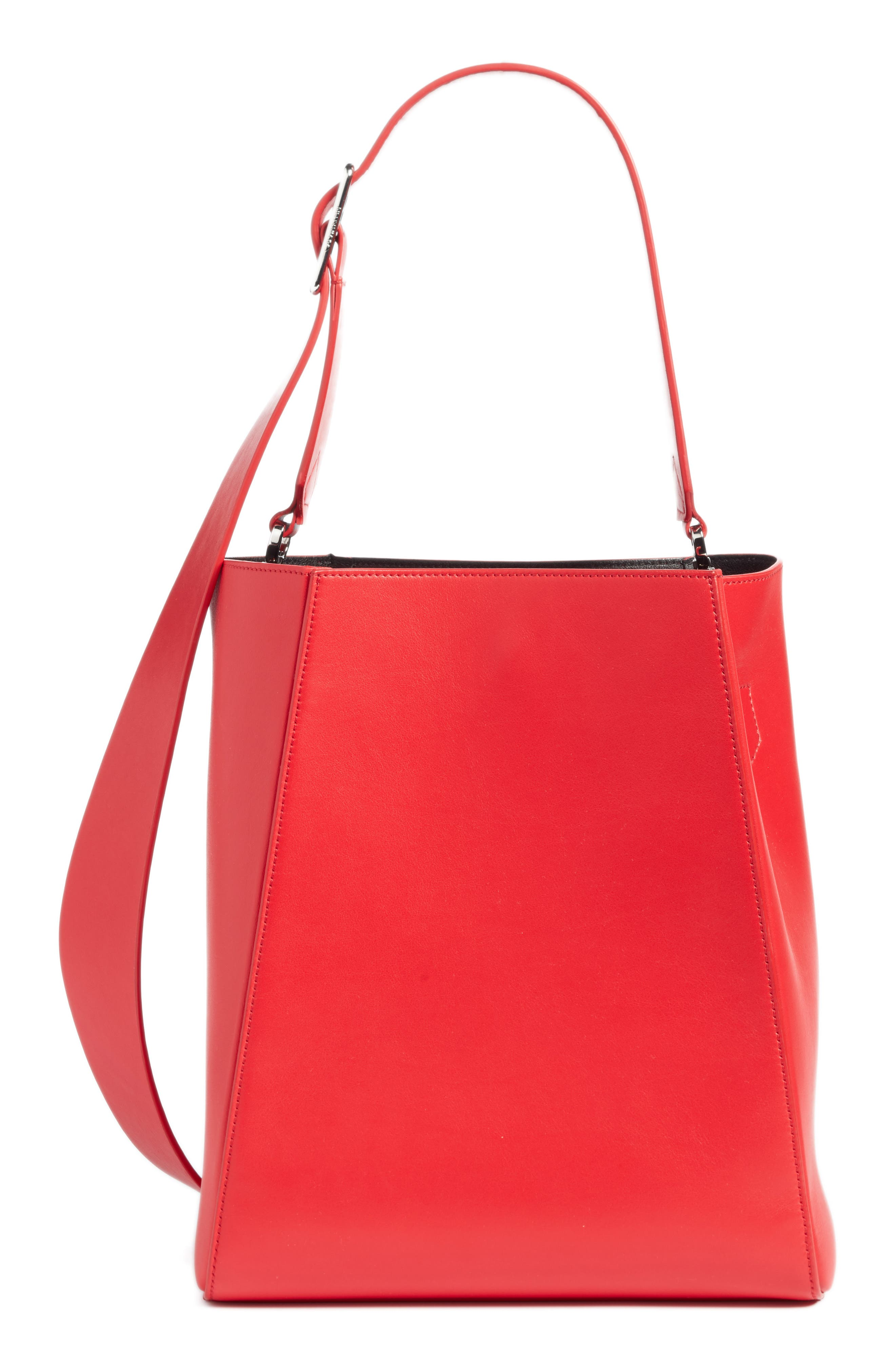 x Andy Warhol Foundation Electric Chair Leather Bucket Bag,                             Alternate thumbnail 2, color,                             621