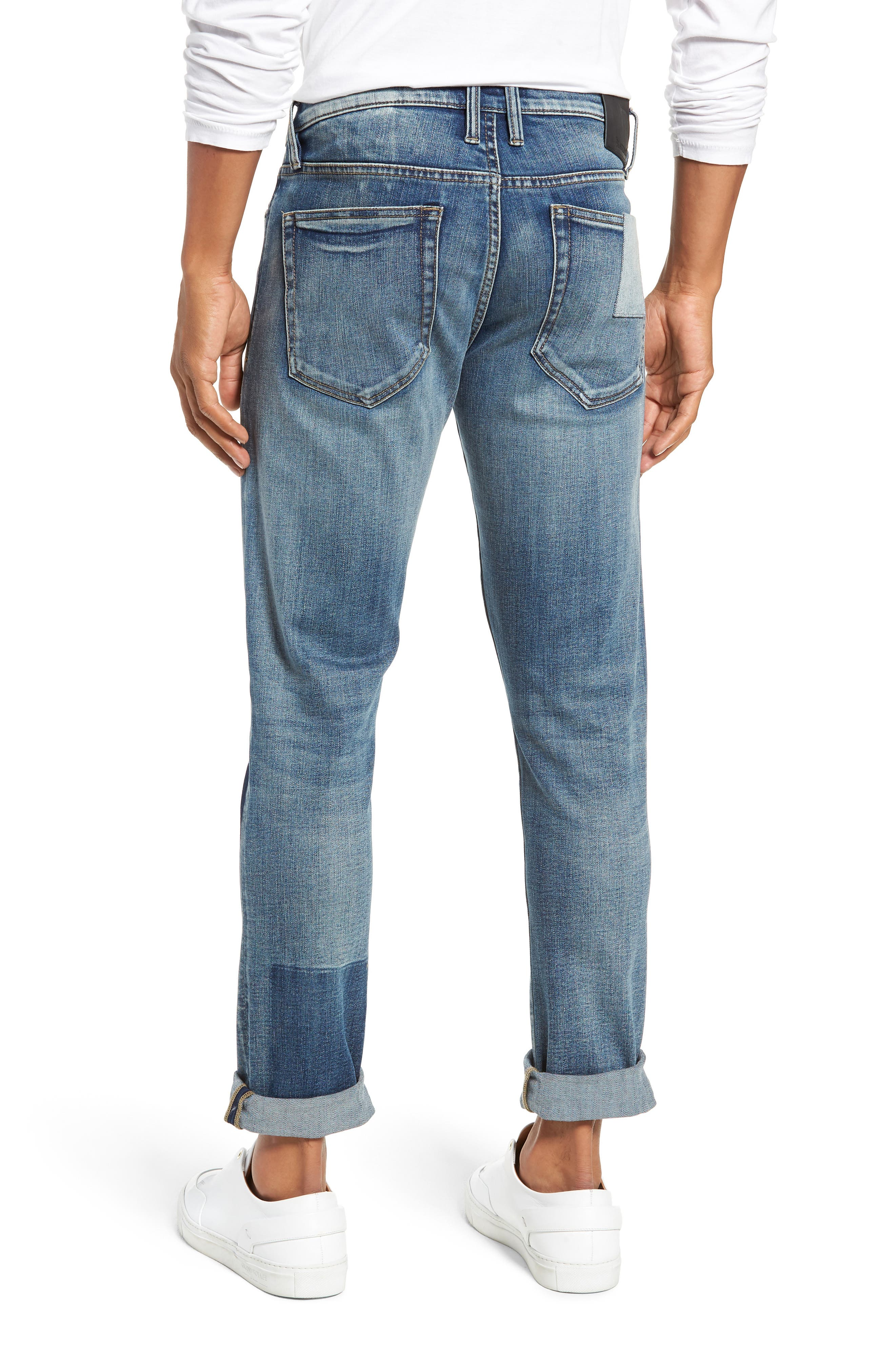 Stanton Straight Leg Jeans,                             Alternate thumbnail 2, color,                             COLD ONE