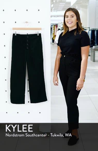 Etta High Waist Crop Wide Leg Jeans, sales video thumbnail