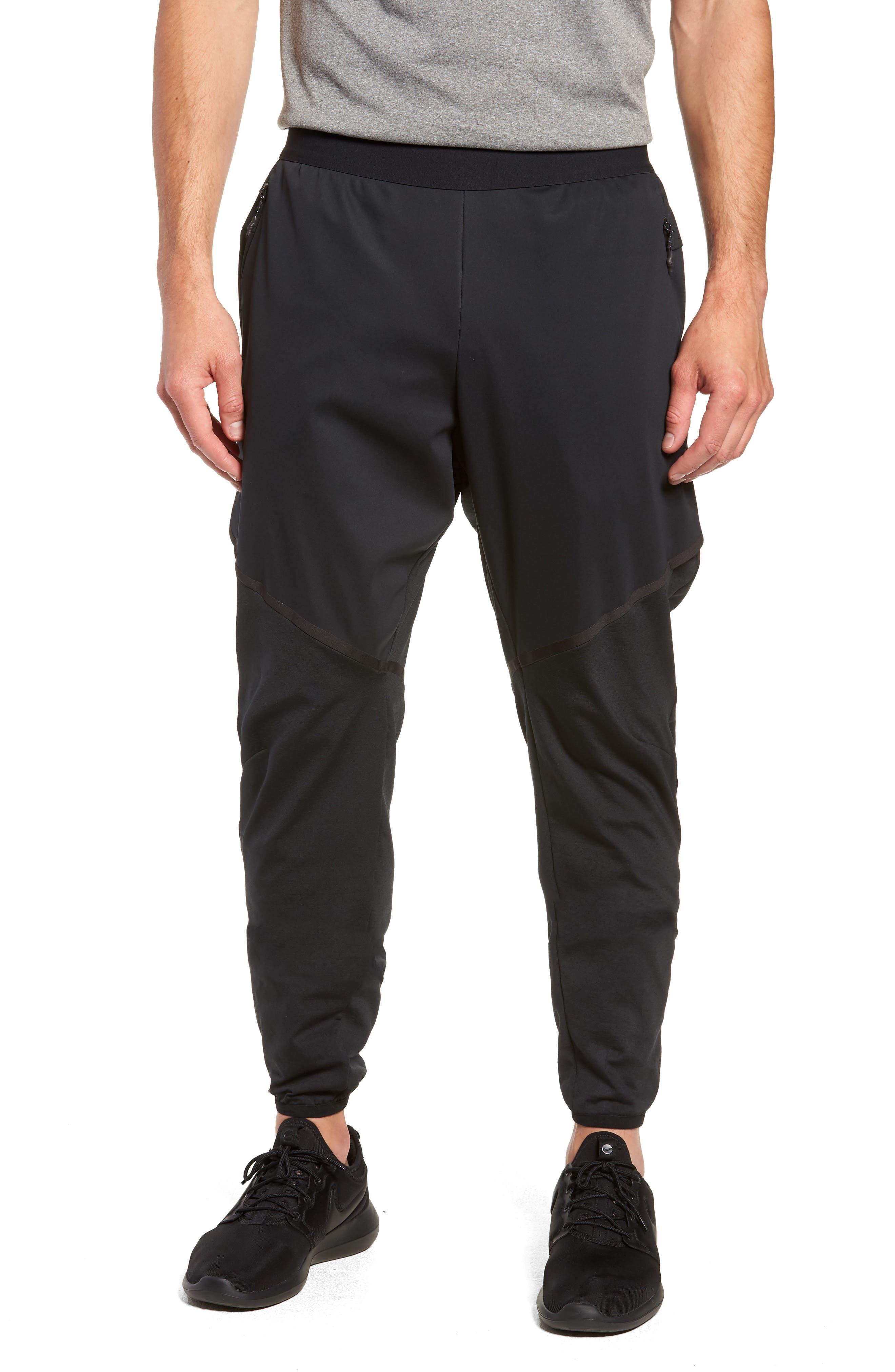 Training Flex Pants,                             Main thumbnail 1, color,                             BLACK/ BLACK
