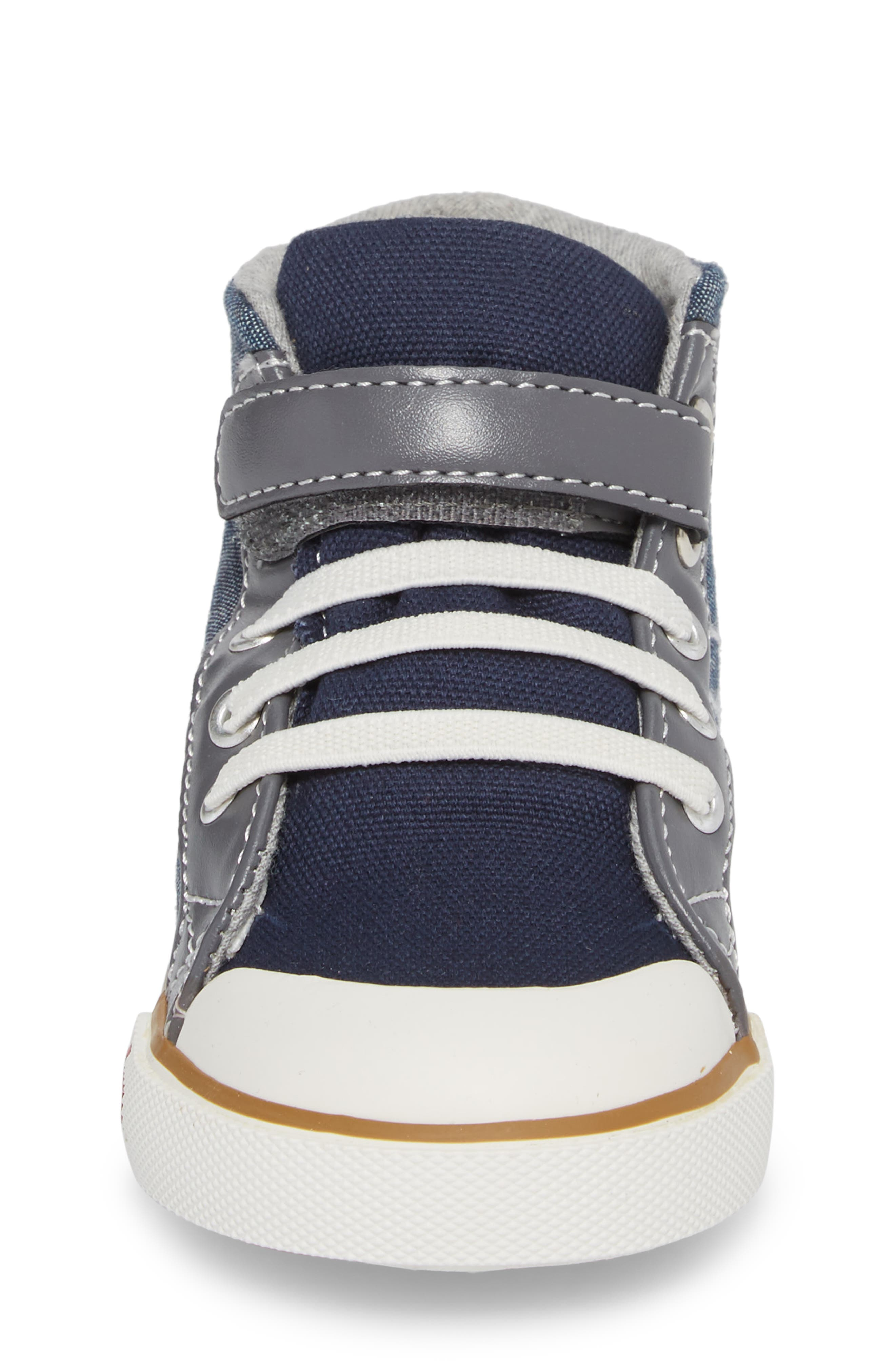Dane Sneaker,                             Alternate thumbnail 4, color,                             CHAMBRAY MULTI