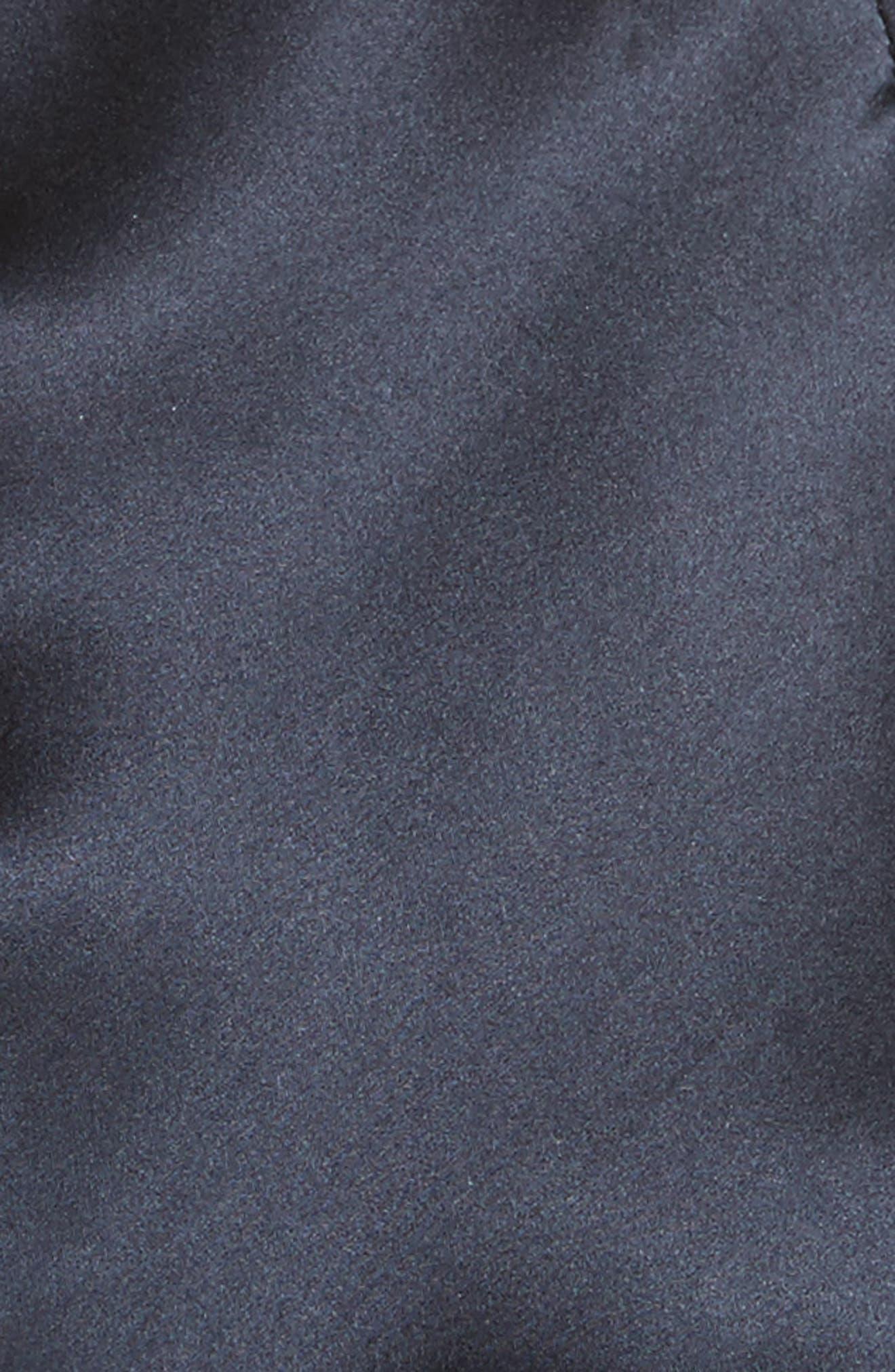Florence Silk Charmeuse Cold Shoulder Top,                             Alternate thumbnail 5, color,                             406