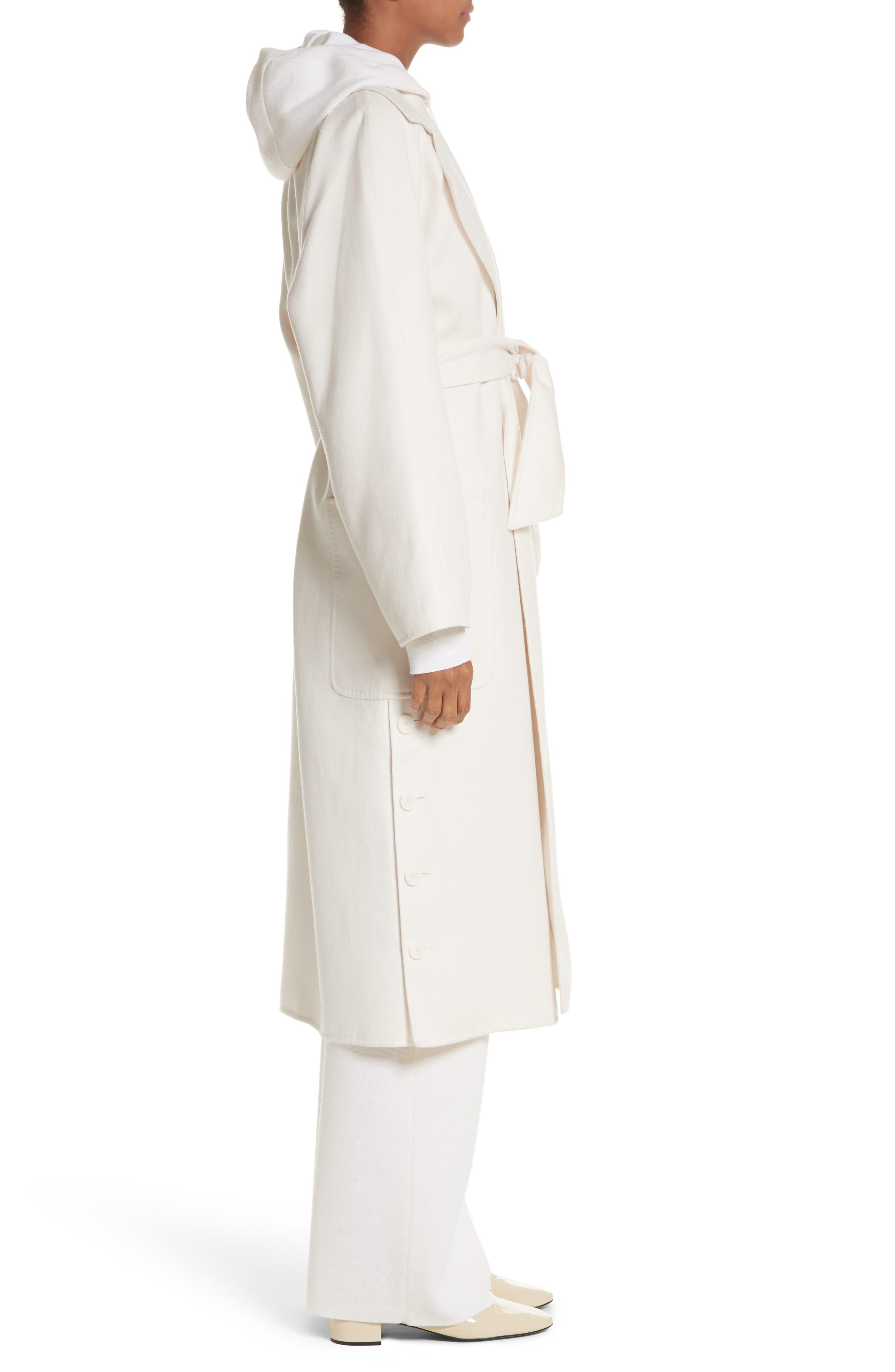Alacre Wool & Cashmere Coat,                             Alternate thumbnail 3, color,                             110