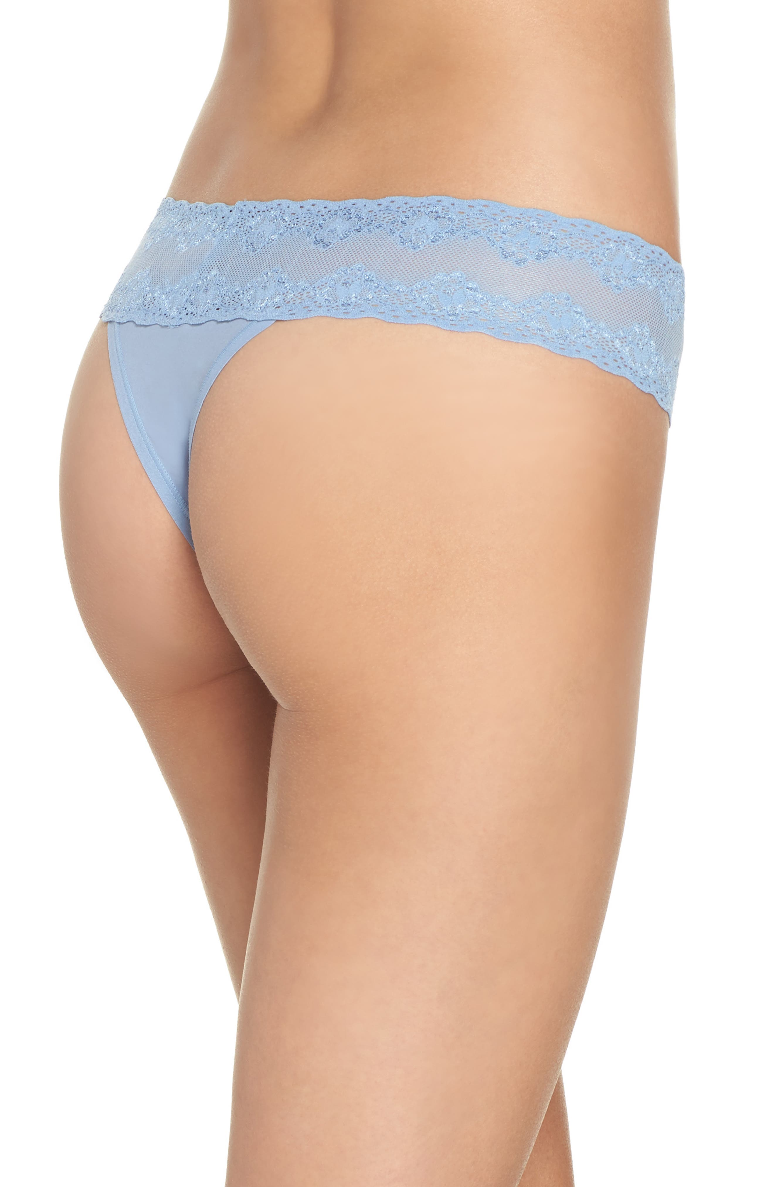 Bliss Perfection Thong,                             Alternate thumbnail 113, color,