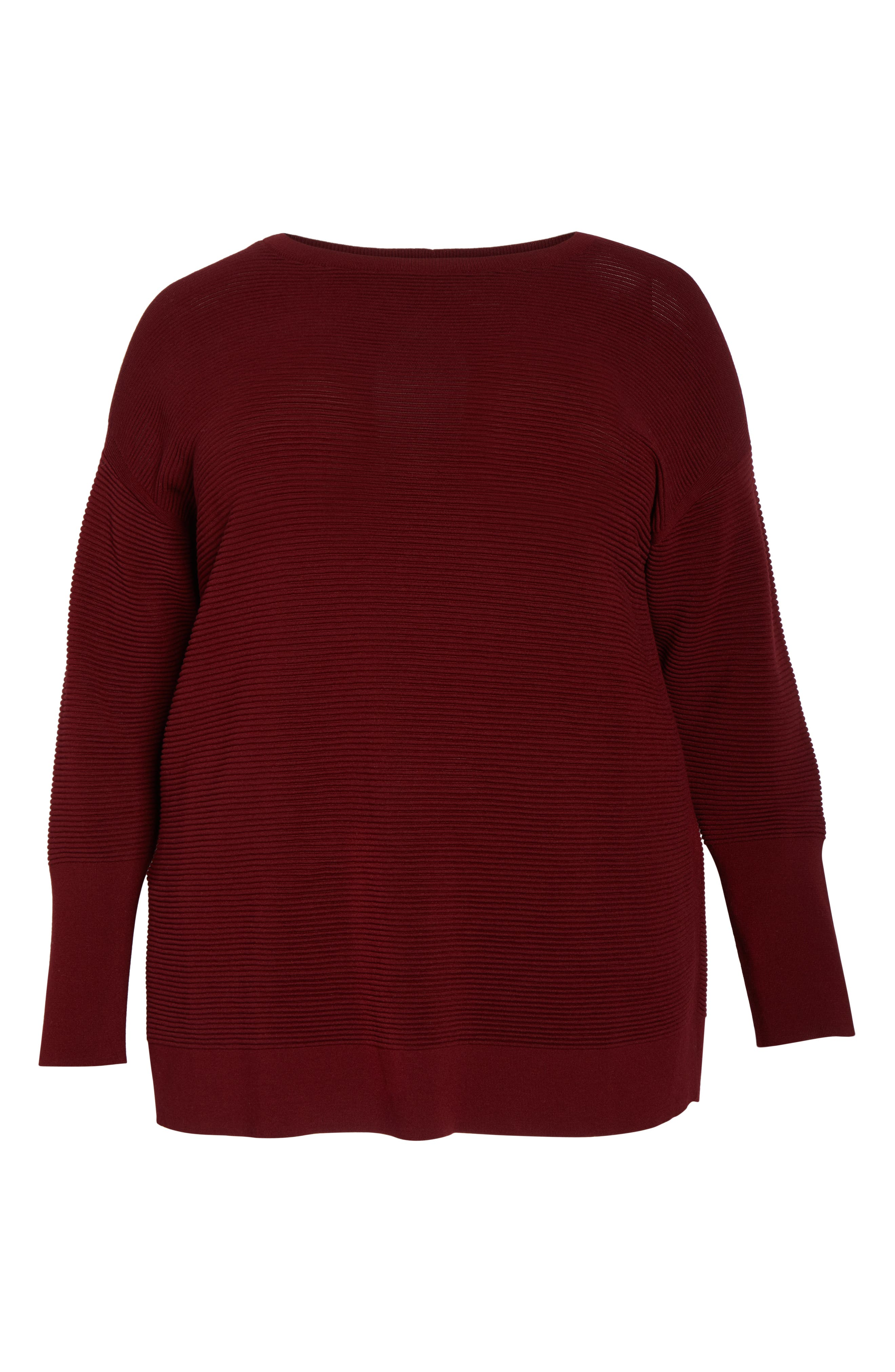 LAFAYETTE 148 NEW YORK,                             Bateau Neck Matte Crepe Sweater,                             Alternate thumbnail 6, color,                             601