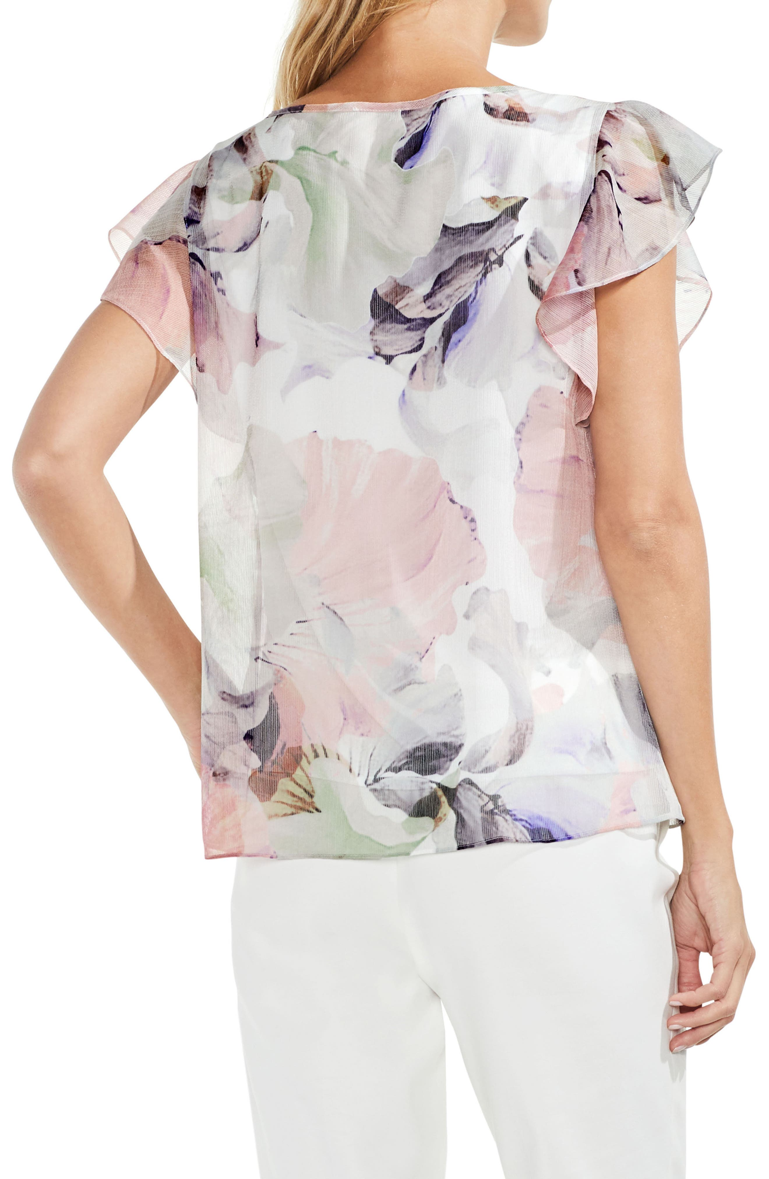 Diffused Bloom Blouse,                             Alternate thumbnail 2, color,                             103