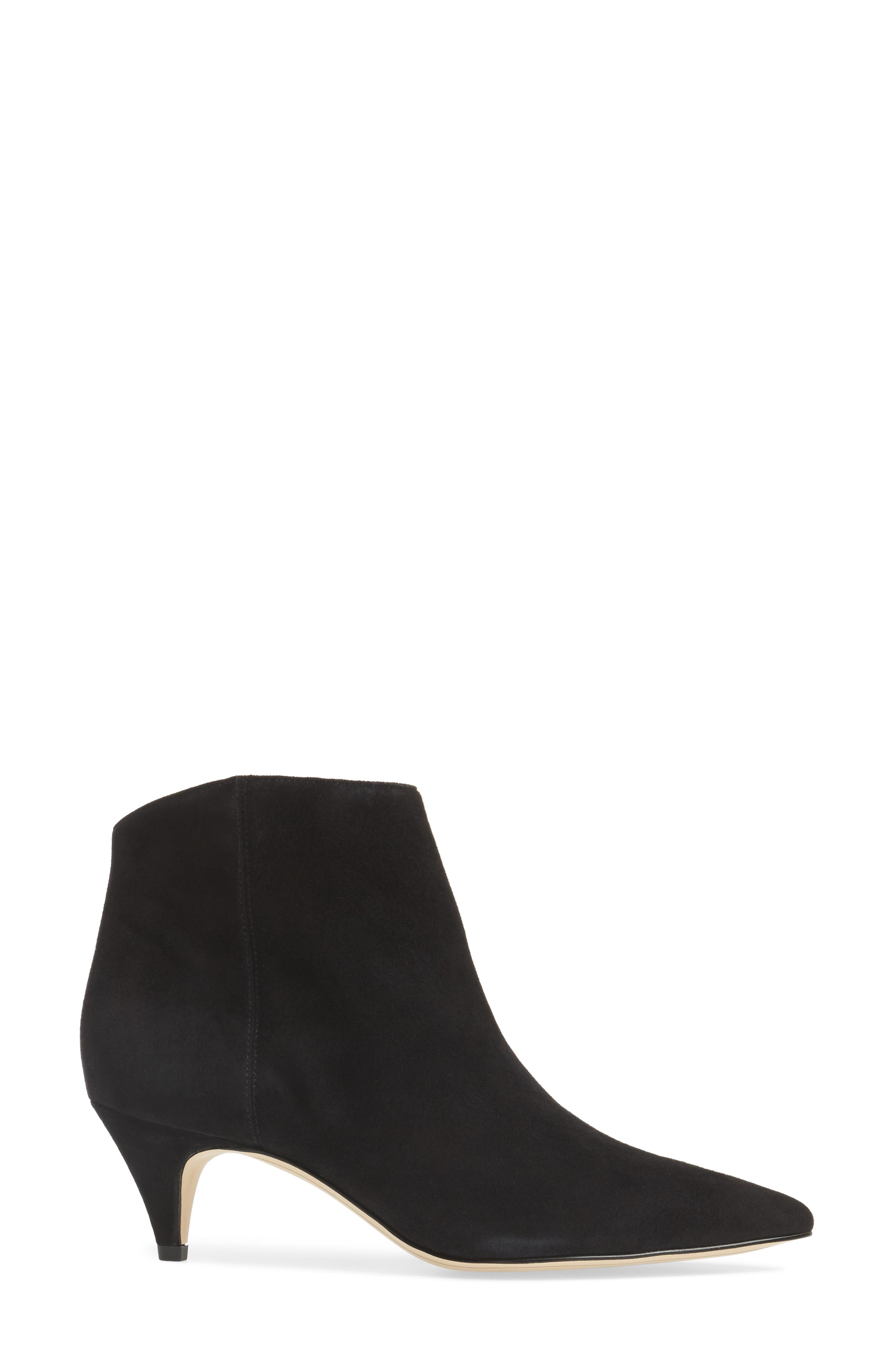 Kinzey Pointy Toe Bootie,                             Alternate thumbnail 3, color,                             001