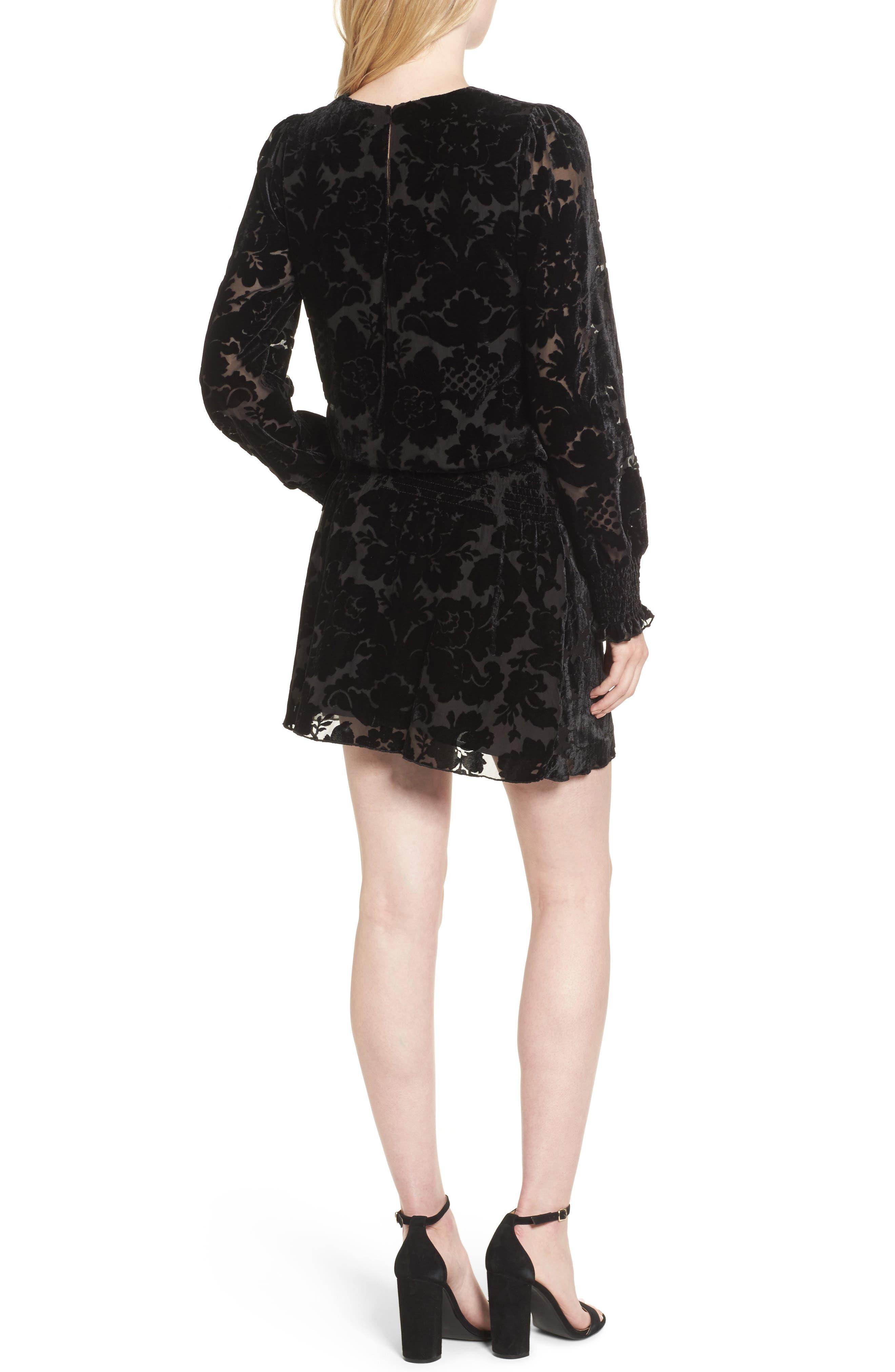 Carmindy Blouson Dress,                             Alternate thumbnail 2, color,                             001