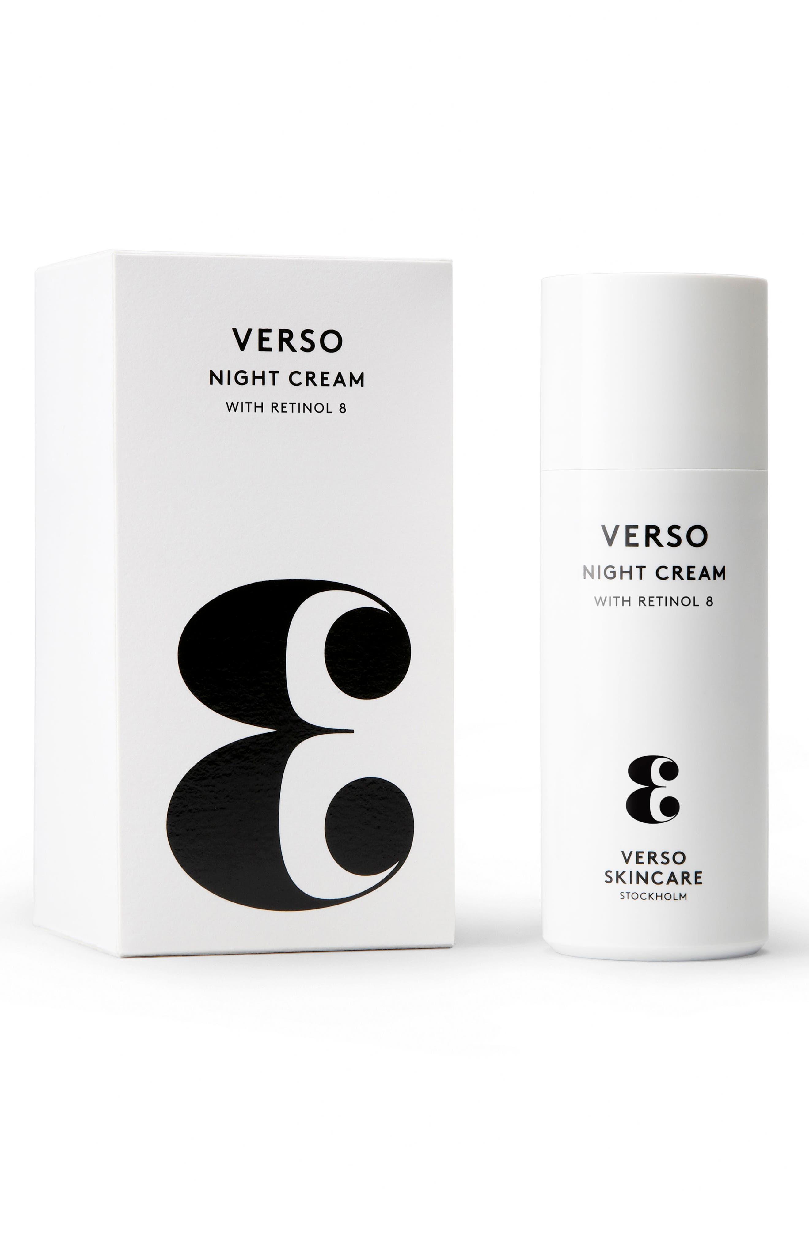 SPACE.NK.apothecary Verso Skincare Night Cream,                         Main,                         color, NO COLOR