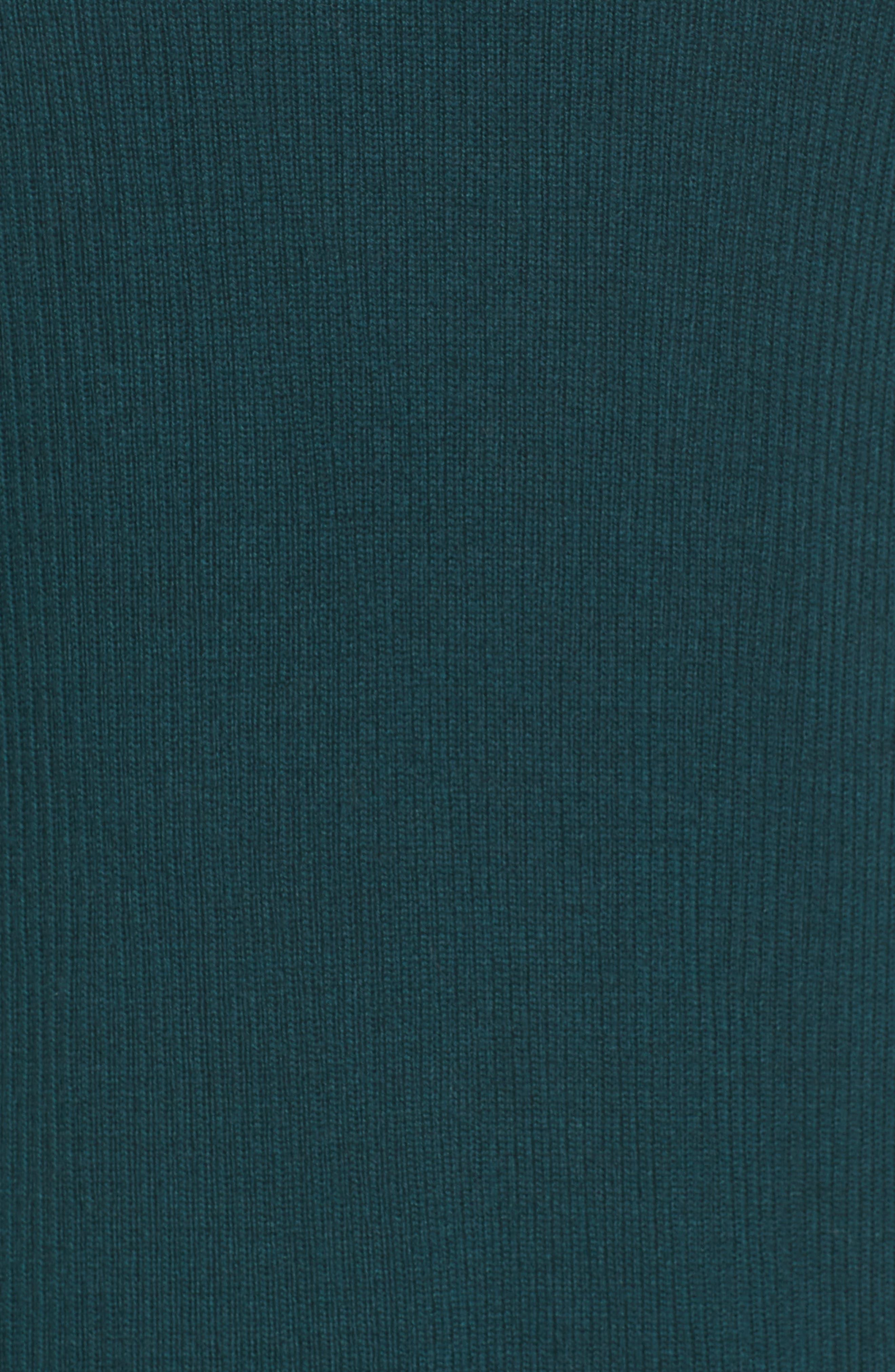 Rib Knit Wool Blend Cardigan,                             Alternate thumbnail 87, color,
