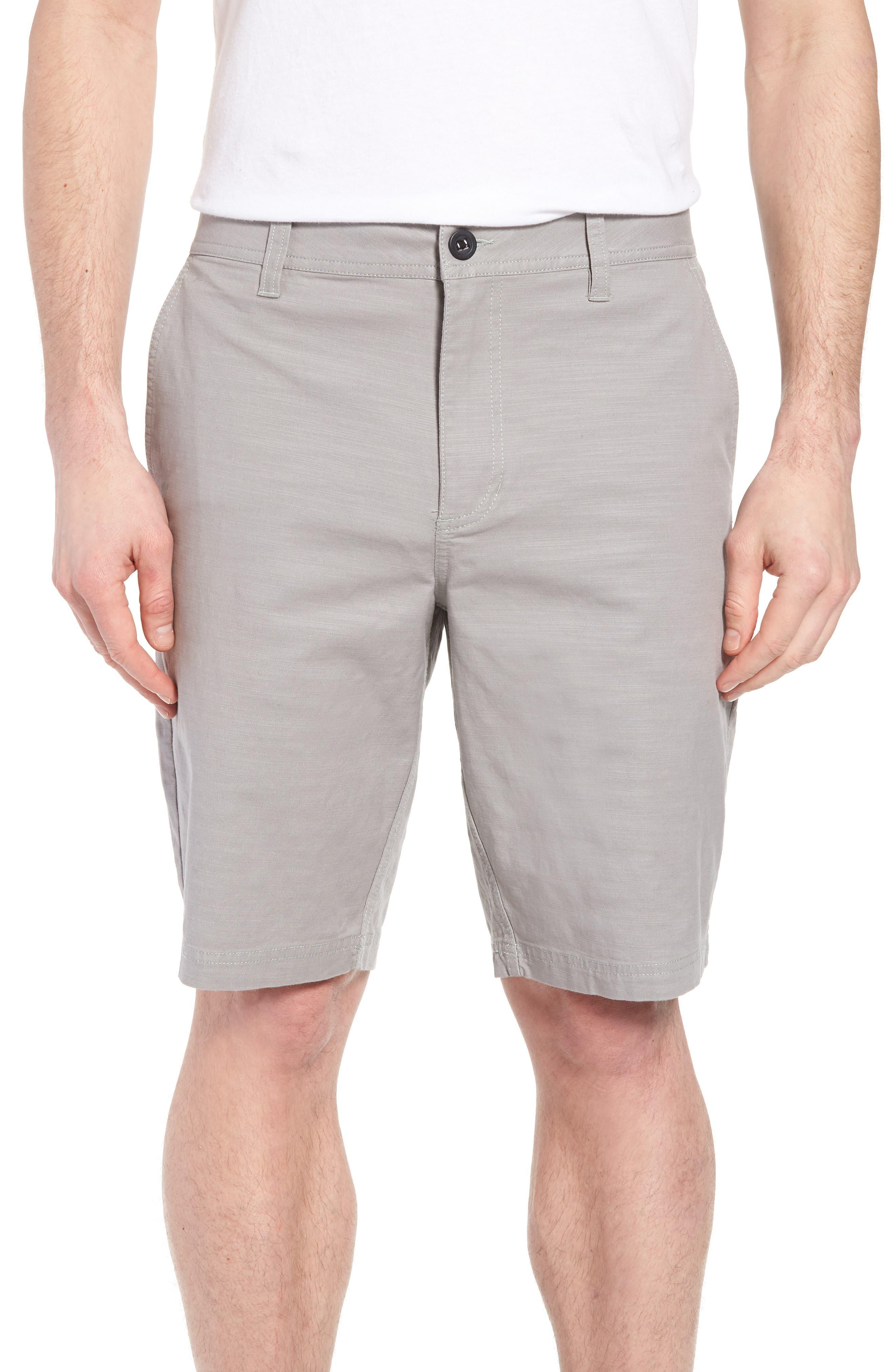 Jay Stretch Chino Shorts,                         Main,                         color, LIGHT GREY