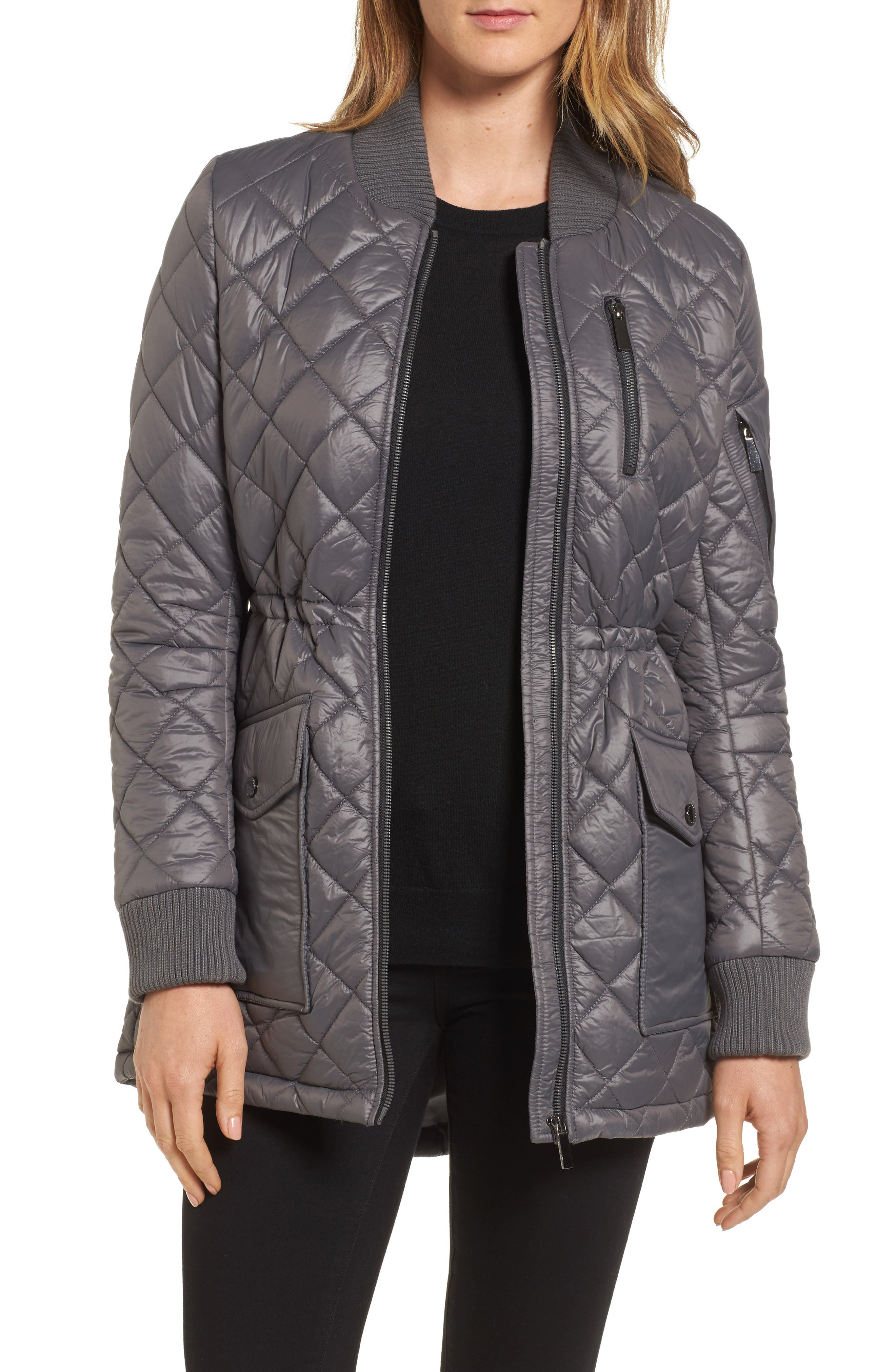 Quilted Anorak Jacket,                             Main thumbnail 2, color,