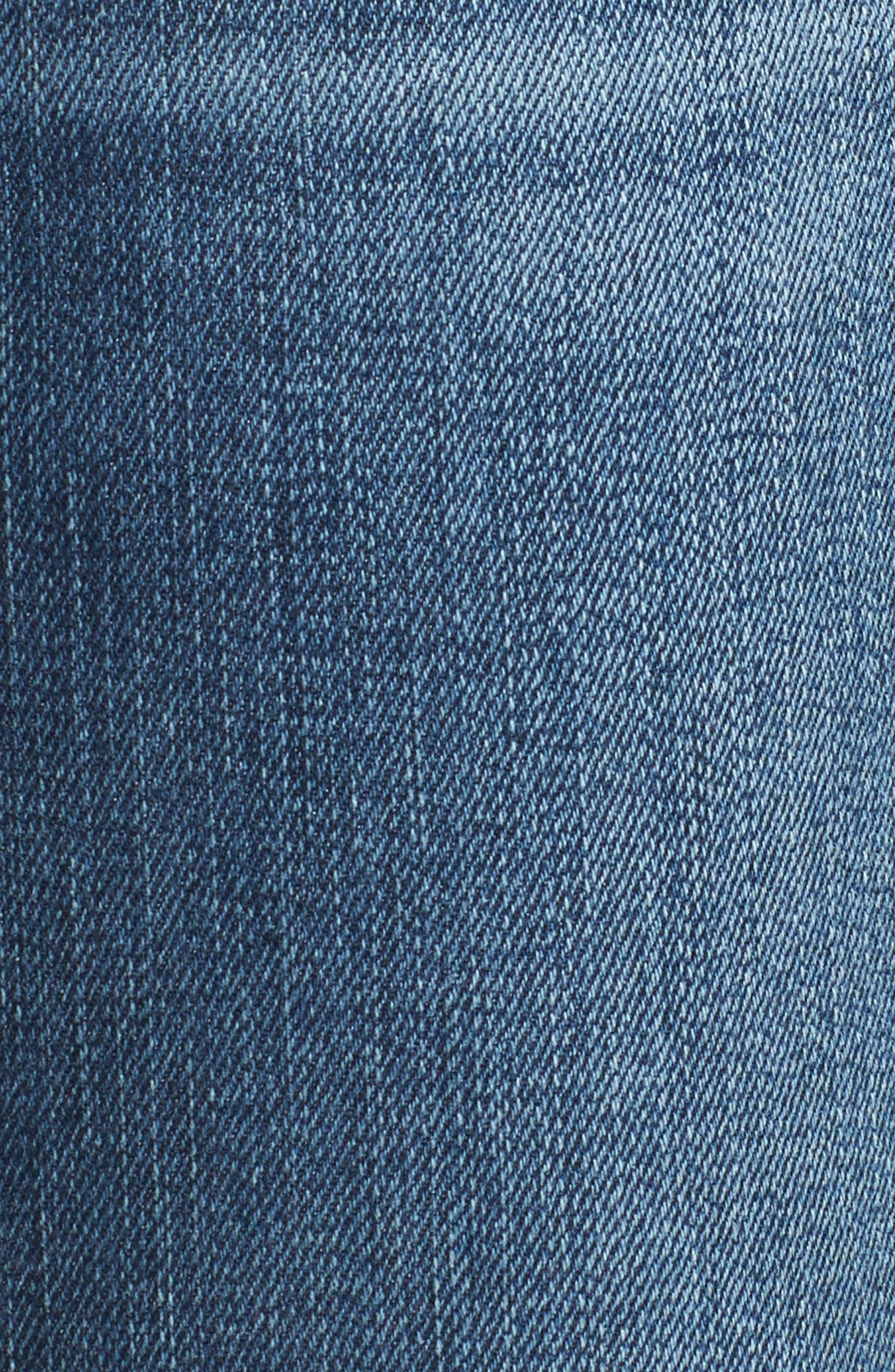 Lola Ripped Skinny Jeans,                             Alternate thumbnail 5, color,                             400