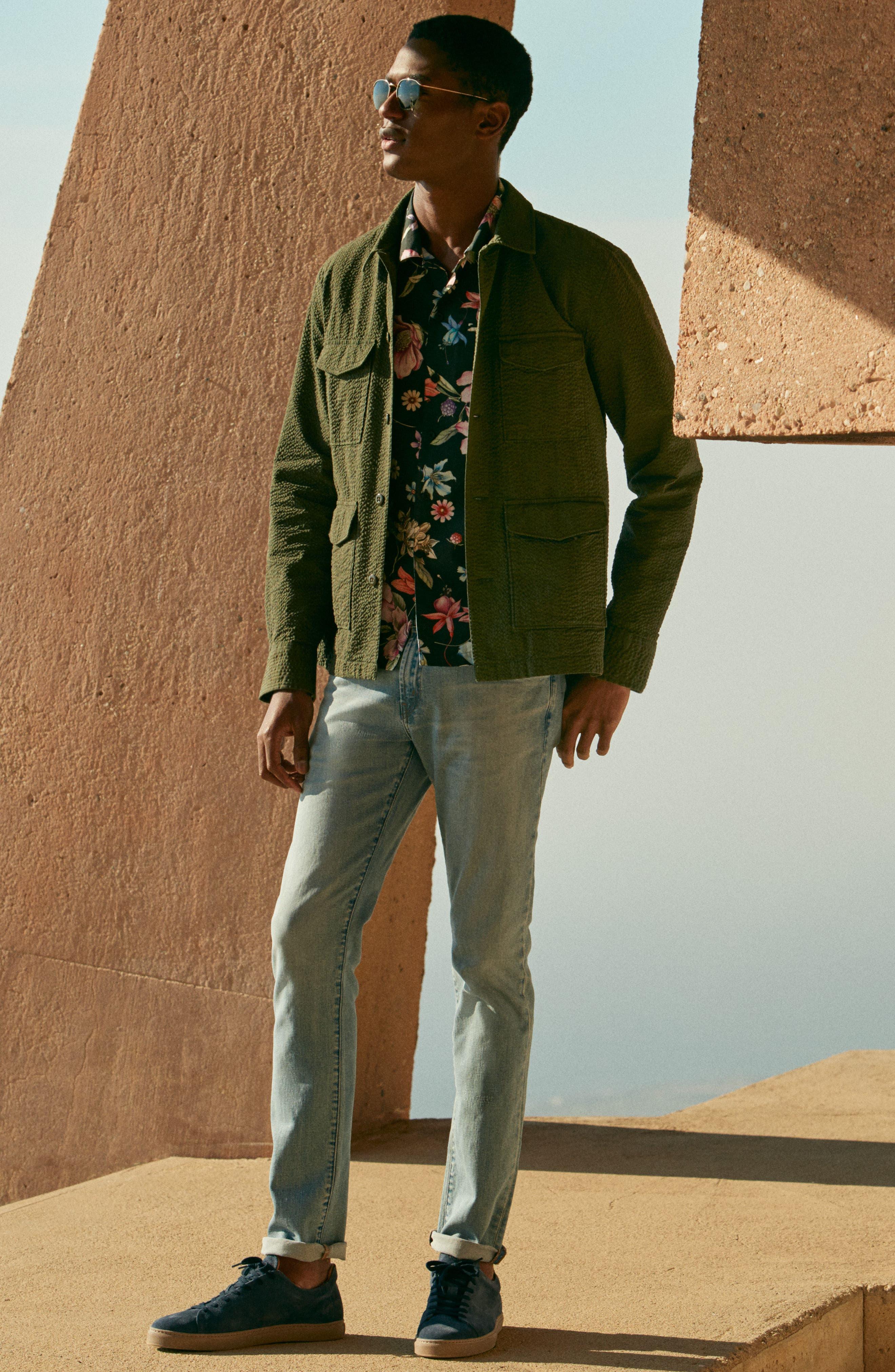 Tyler Slim Fit Jeans,                             Alternate thumbnail 4, color,                             HAMMERHEAD