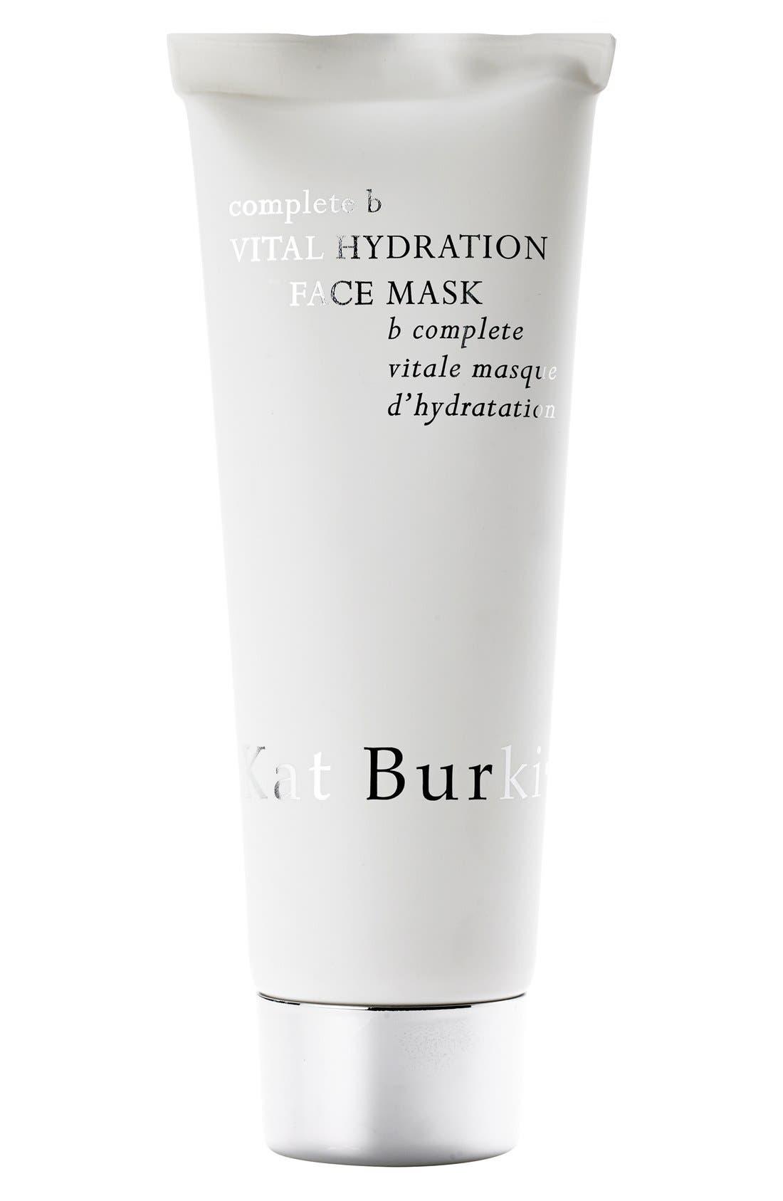 SPACE.NK.apothecary Kat Burki Complete B Vital Hydration Face Mask,                             Main thumbnail 1, color,                             000