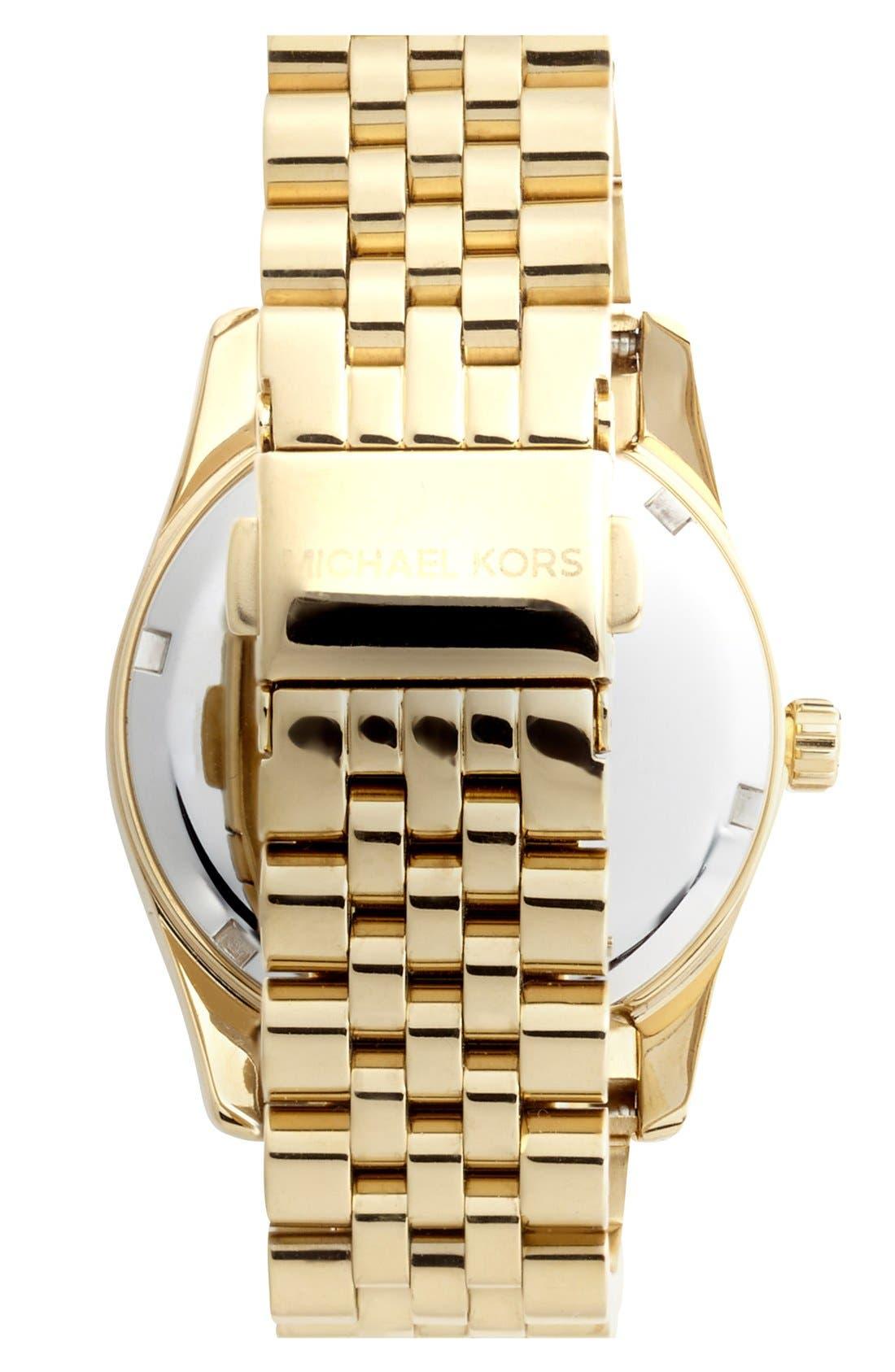 'Lexington' Chronograph Bracelet Watch, 38mm,                             Alternate thumbnail 35, color,