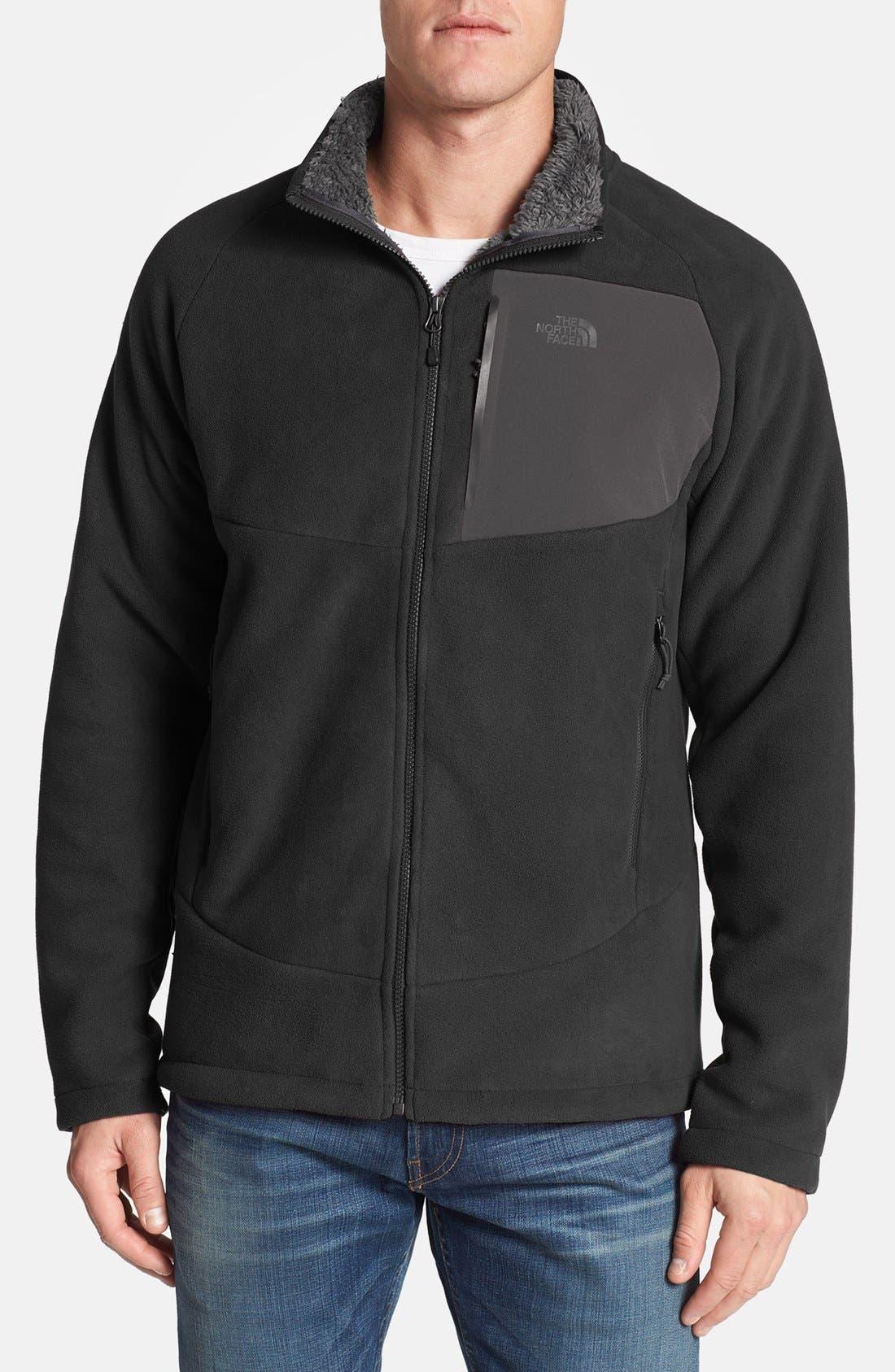 'Chimborazo' Zip Front Fleece Jacket,                             Main thumbnail 5, color,