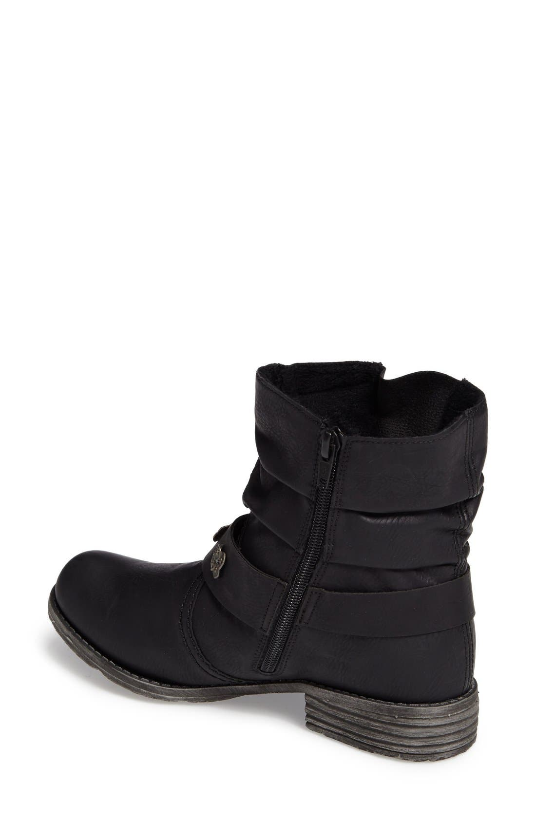 Rieker Antistress 'Peggy' Boot,                             Alternate thumbnail 2, color,                             001