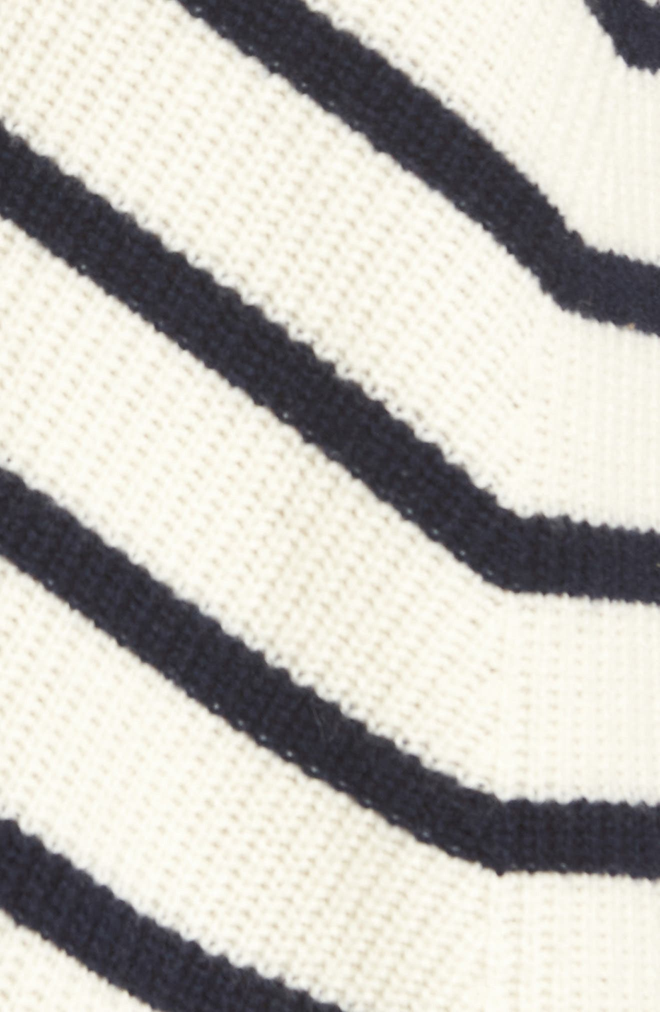 Stripe Fisherman Sweater,                             Alternate thumbnail 5, color,                             111