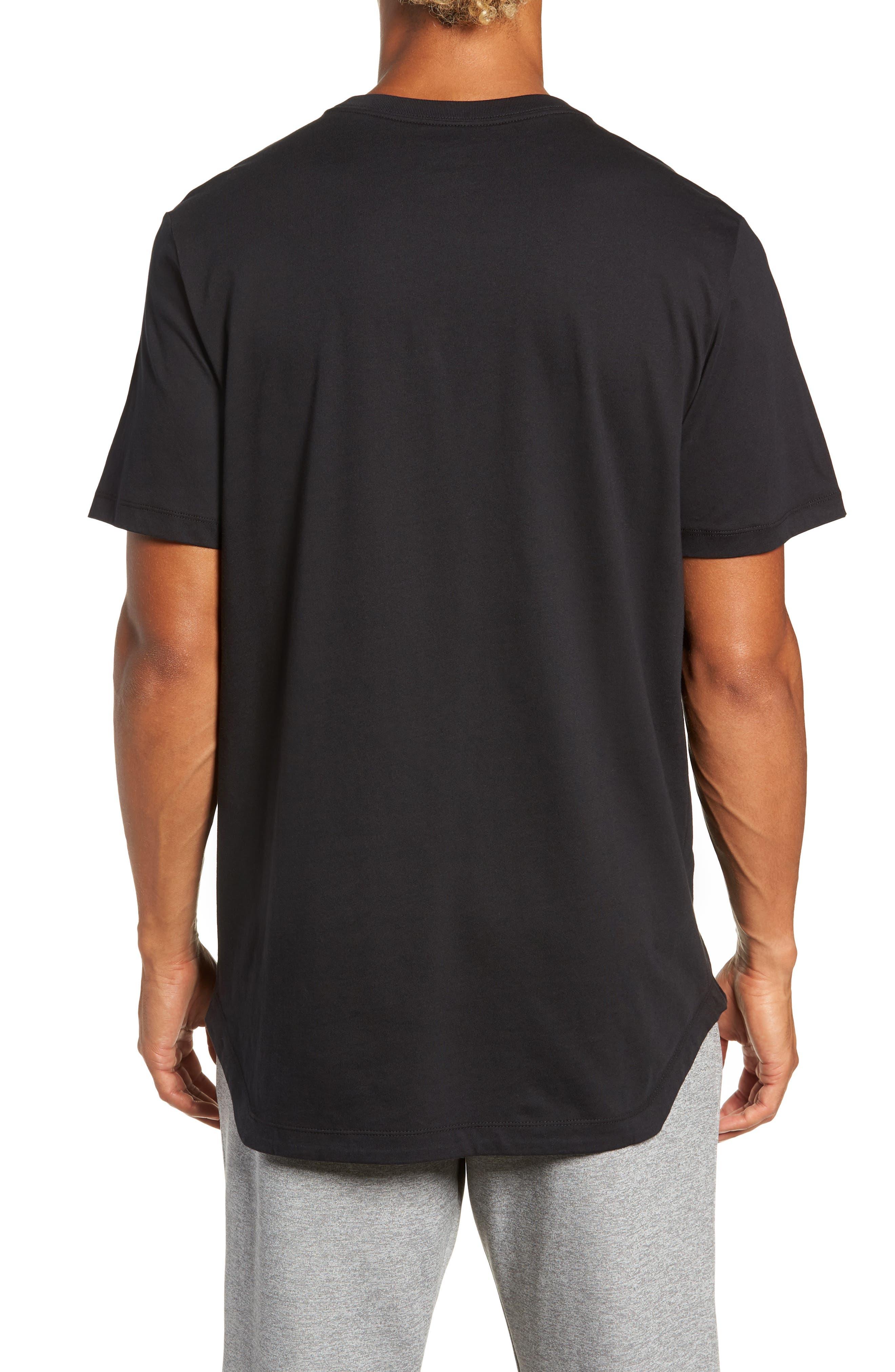 NSW Futura T-Shirt,                             Alternate thumbnail 2, color,                             BLACK/ BLACK