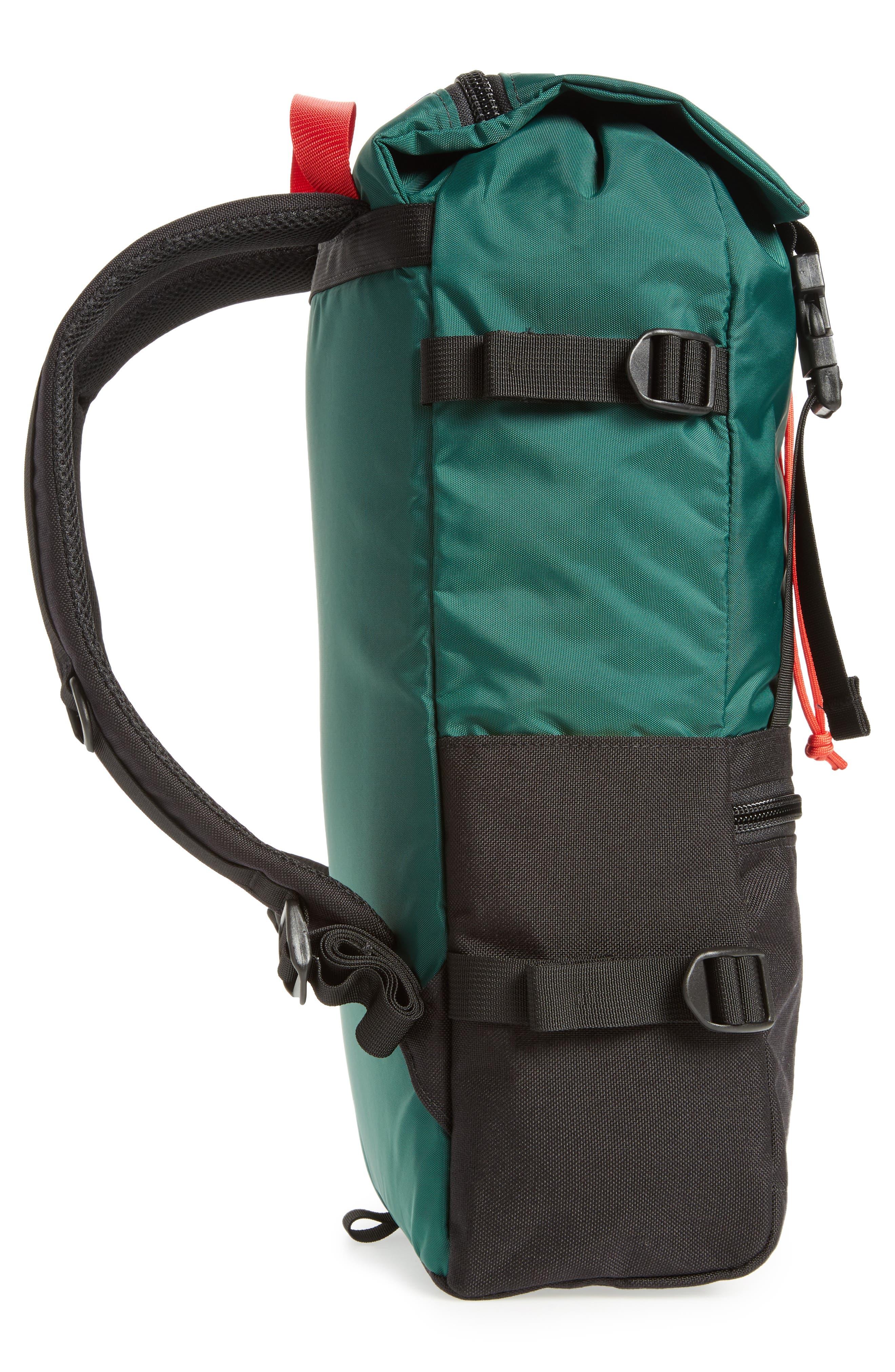 Rover Backpack,                             Alternate thumbnail 5, color,                             FOREST/ BLACK
